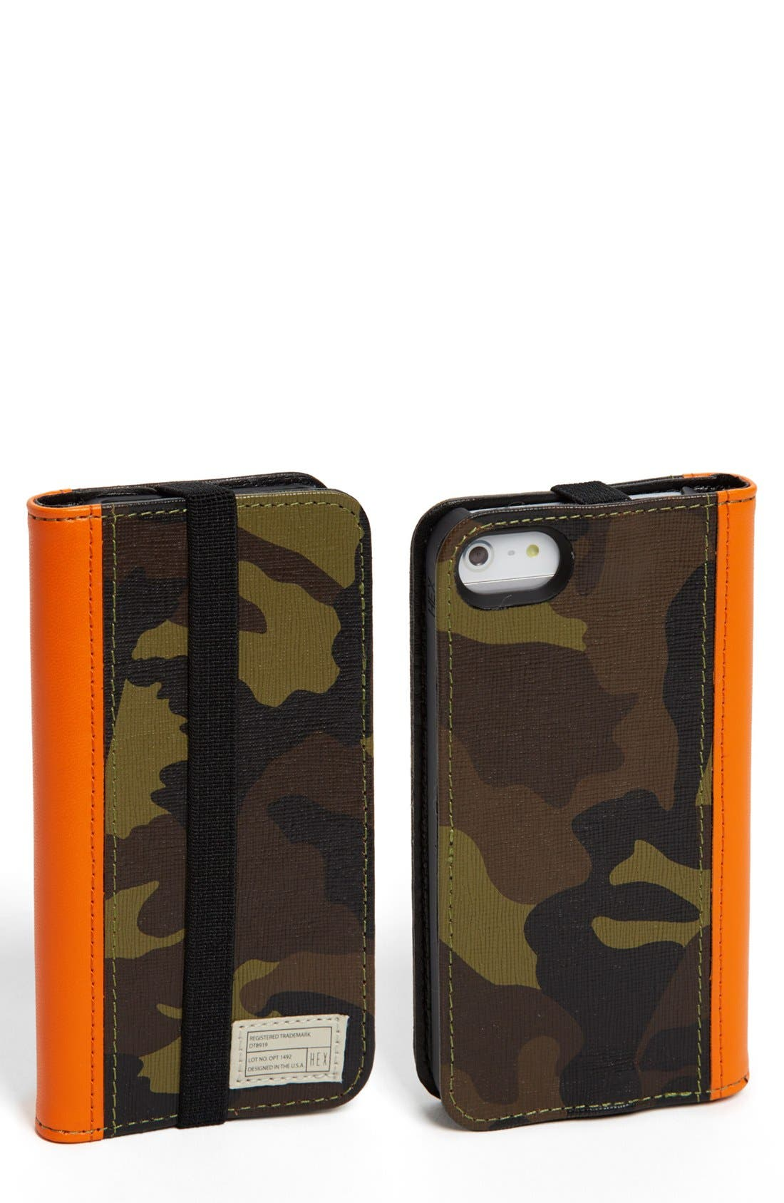 Alternate Image 1 Selected - HEX 'Icon' iPhone 5 & 5s Wallet