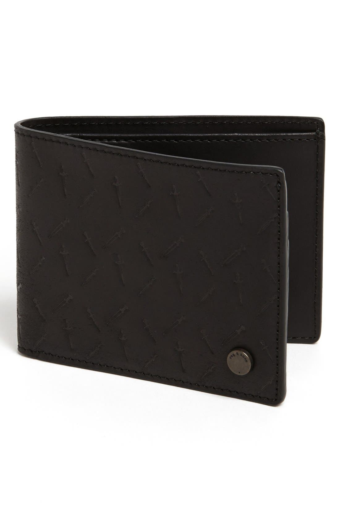 Alternate Image 1 Selected - rag & bone 'Dagger' Wallet