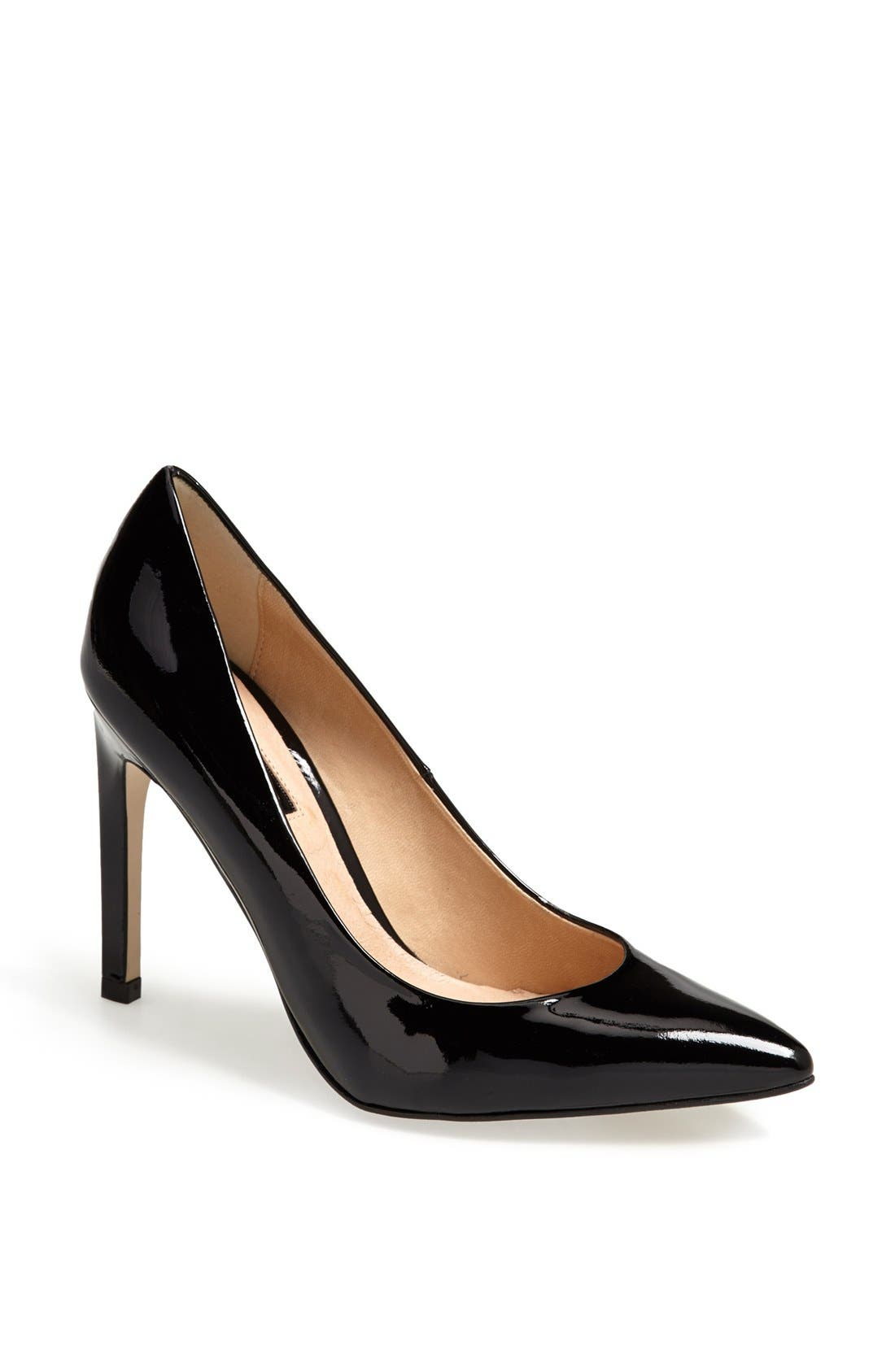 Main Image - Topshop 'Glimmer' Pointed Toe Pump
