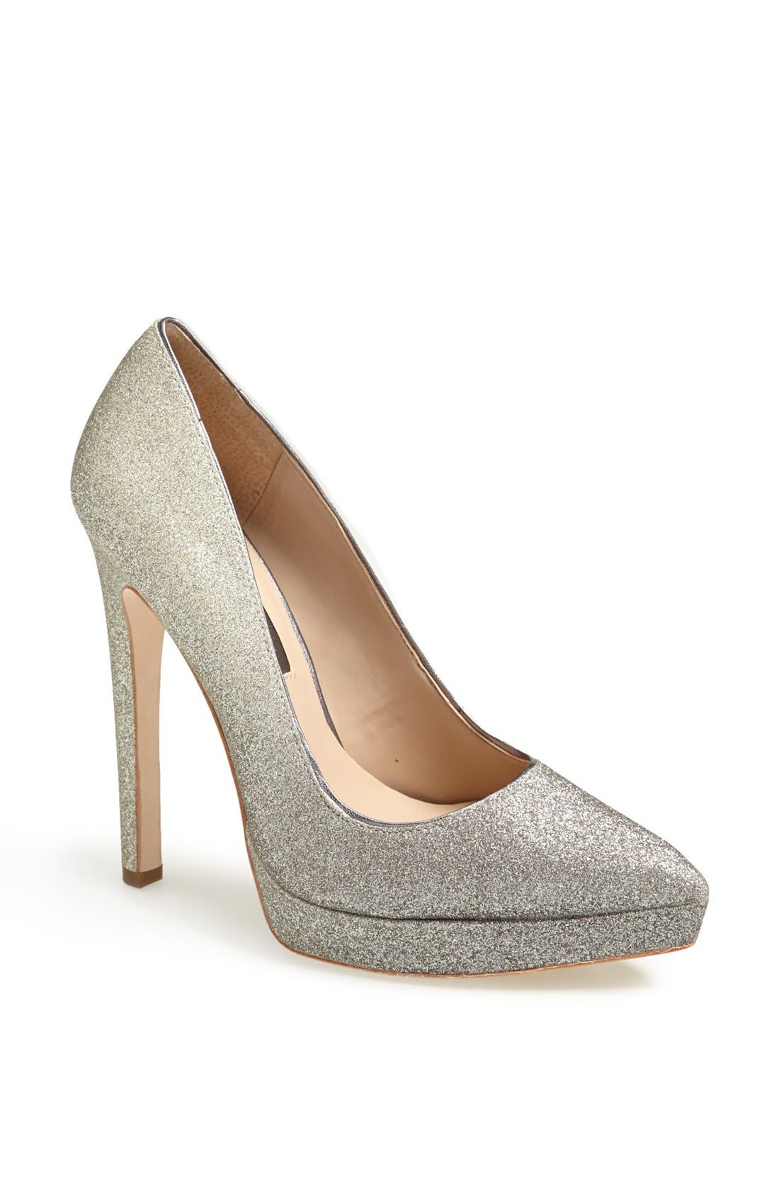 Alternate Image 1 Selected - BCBGMAXAZRIA 'Gami' Dégradé Glitter Pointy Toe Pump