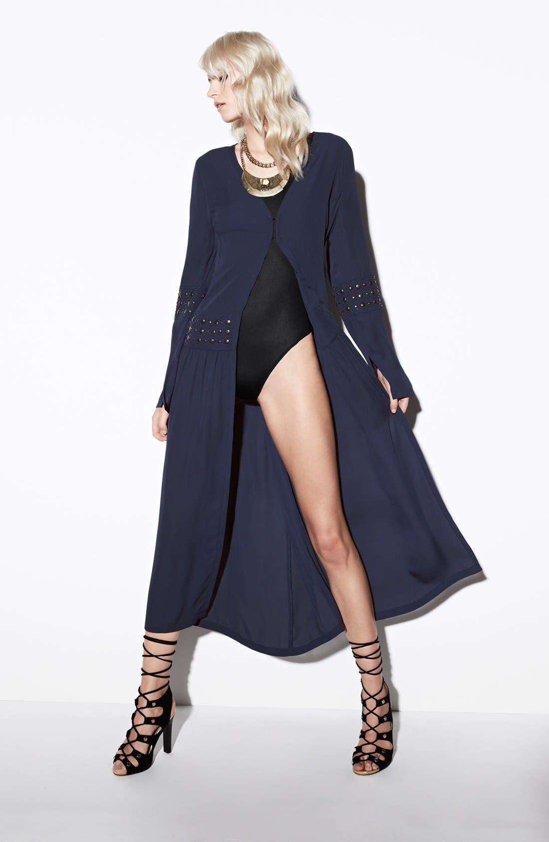 Alternate Image 5  - Leith Three Quarter Length Sleeve Bodysuit