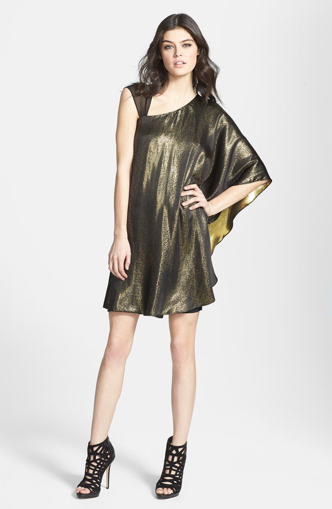 Alternate Image 1 Selected - ERIN erin fetherston 'Lea' Metallic Dress