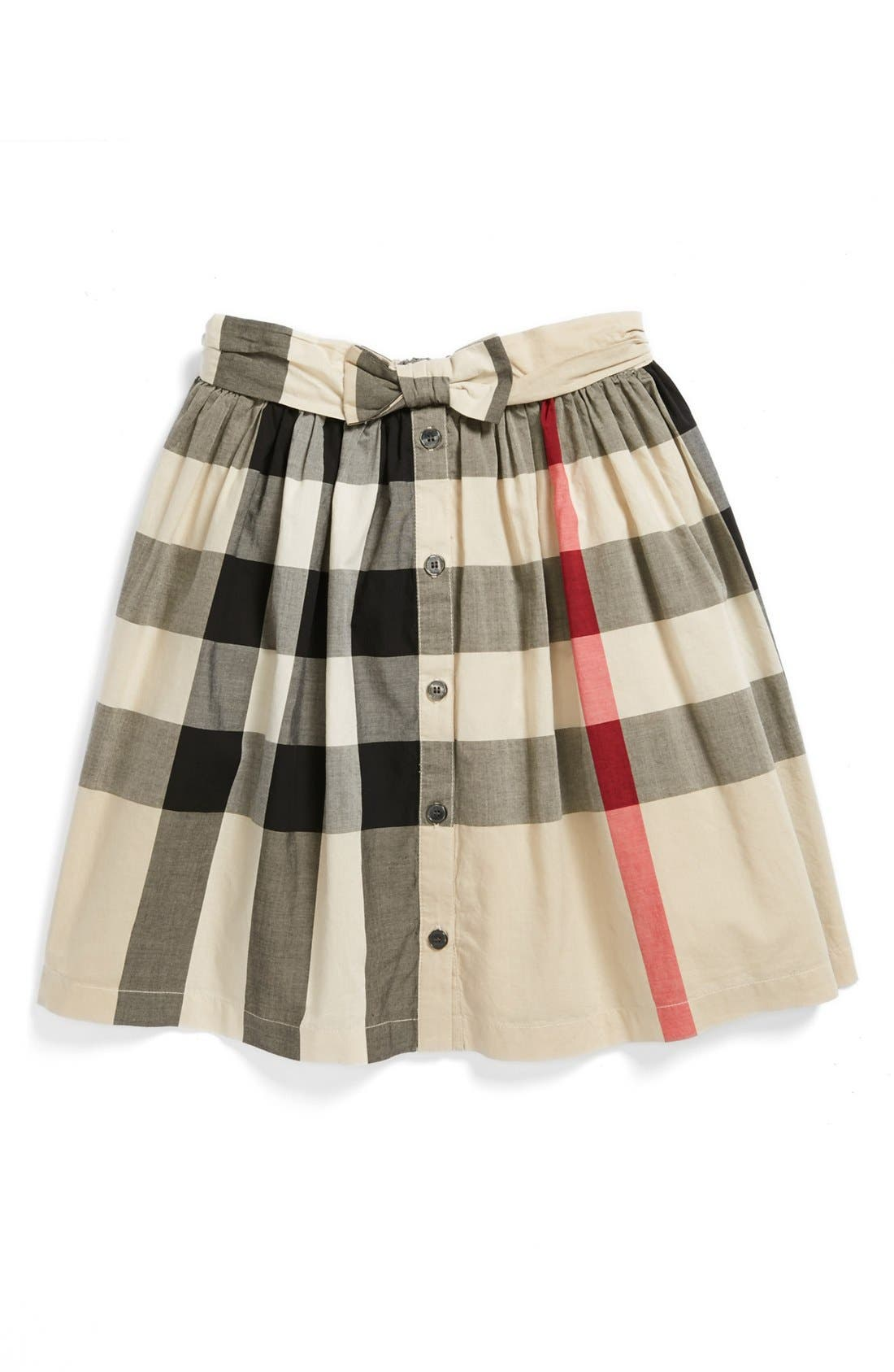 Main Image - Burberry 'Salima' Skirt (Big Girls)