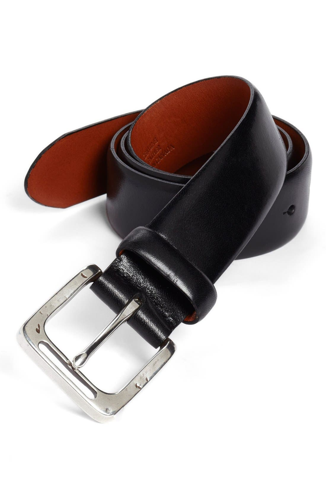Alternate Image 1 Selected - Bosca Leather Belt