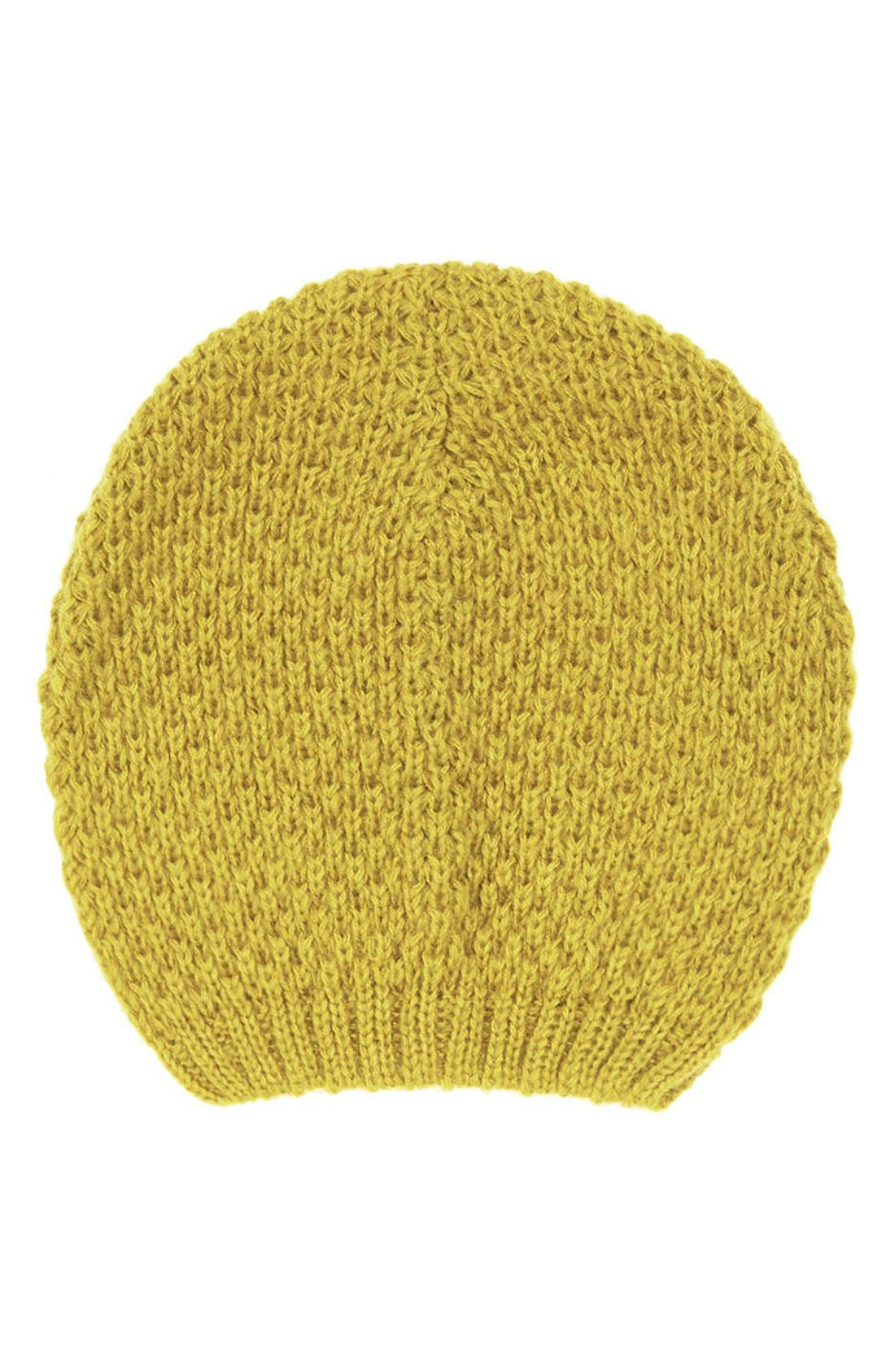 Alternate Image 1 Selected - Topshop Basket Stitch Beanie