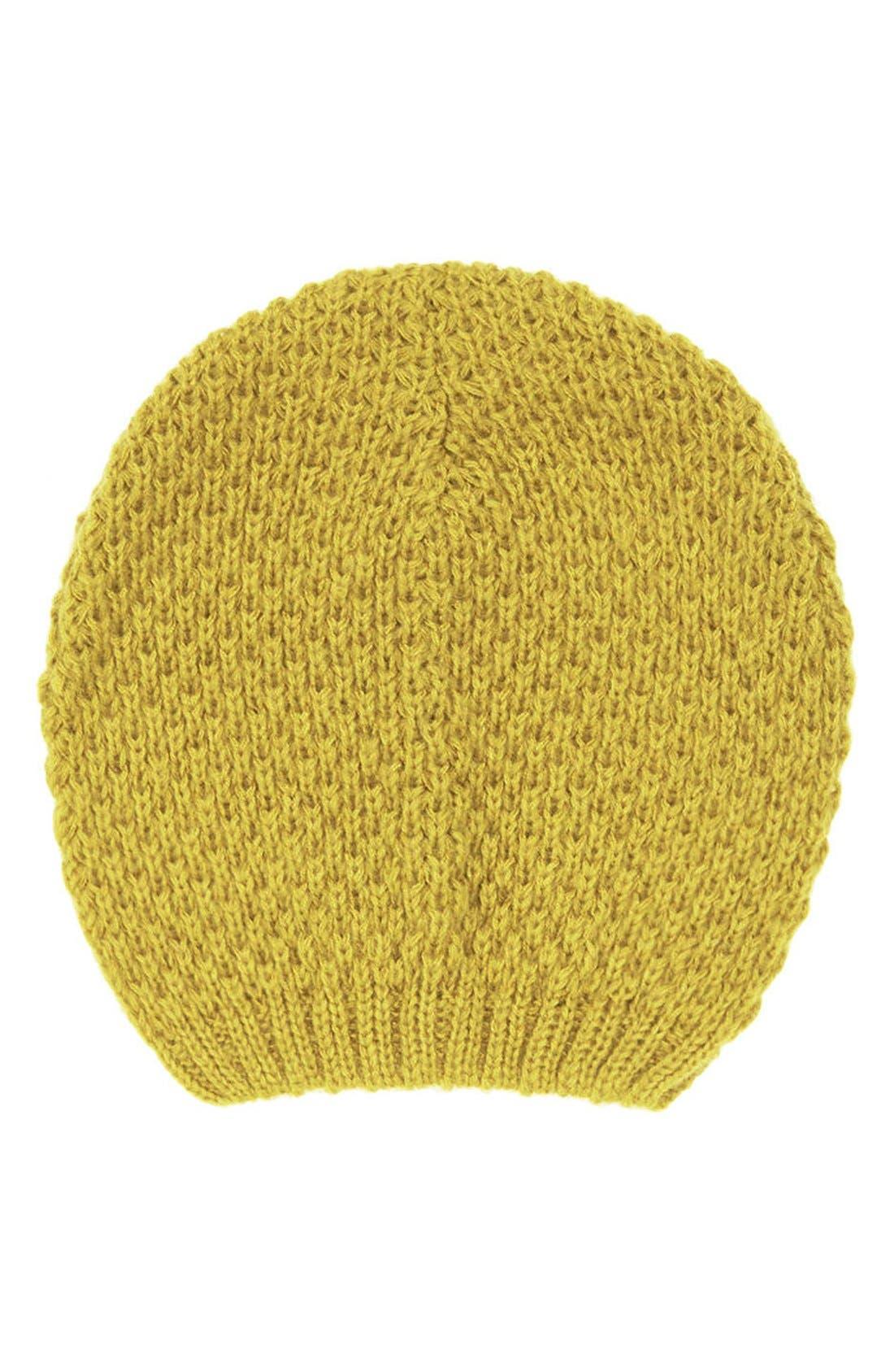 Main Image - Topshop Basket Stitch Beanie