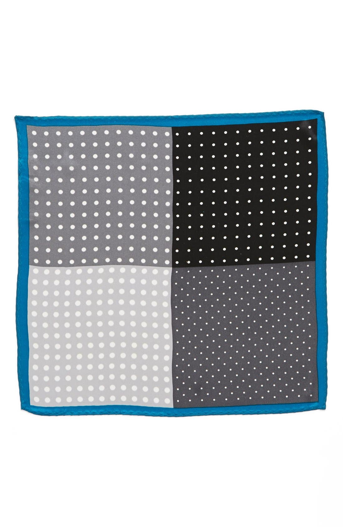 Main Image - Original Penguin 'Amsterdam Dot' Silk Pocket Square