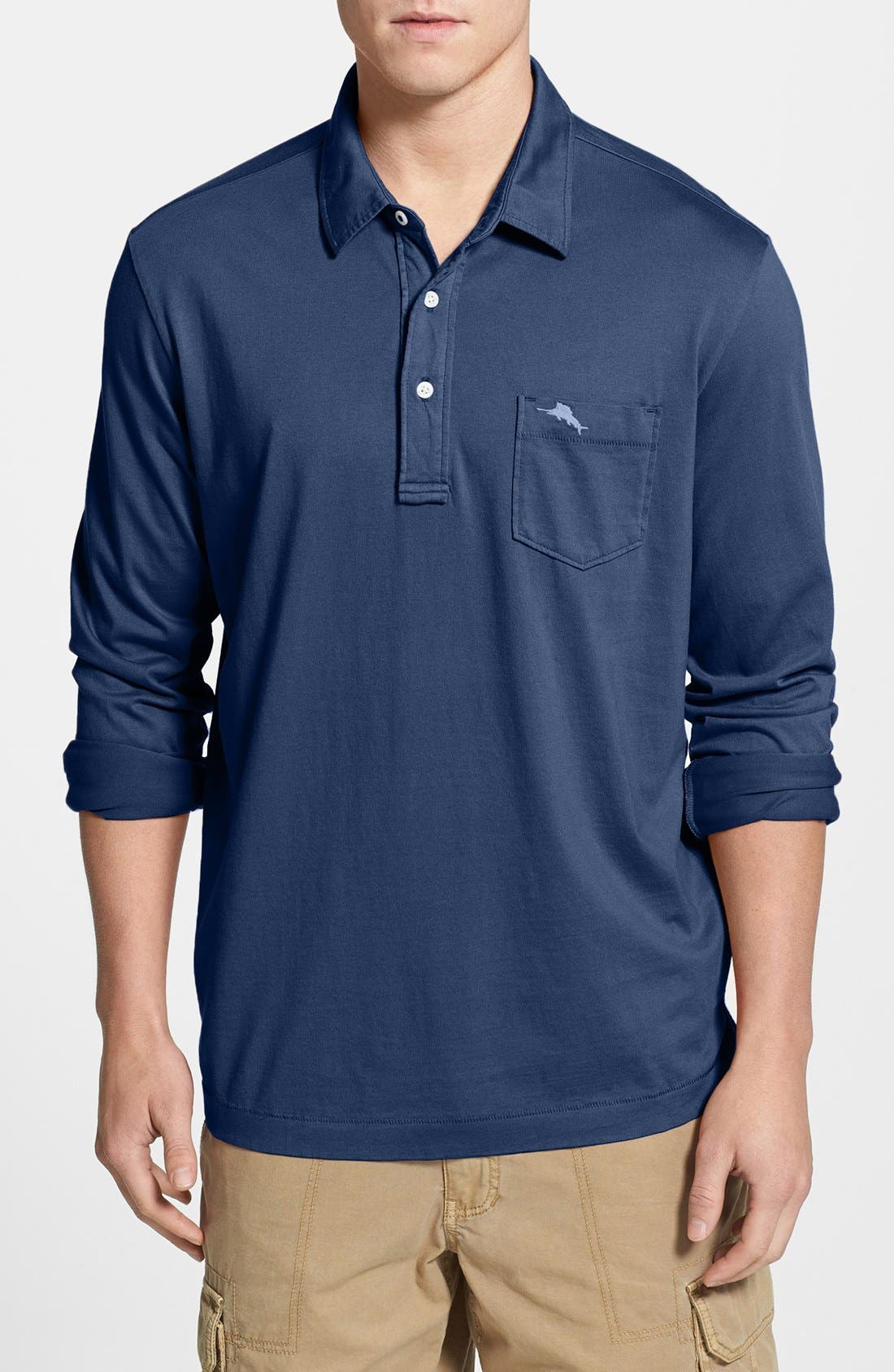 Alternate Image 1 Selected - Tommy Bahama 'Bali Shore' Long Sleeve Polo