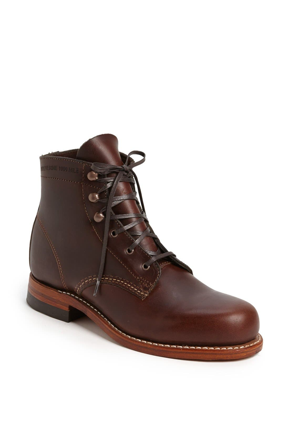 Alternate Image 1 Selected - Wolverine '1000 Mile' Leather Boot (Women)