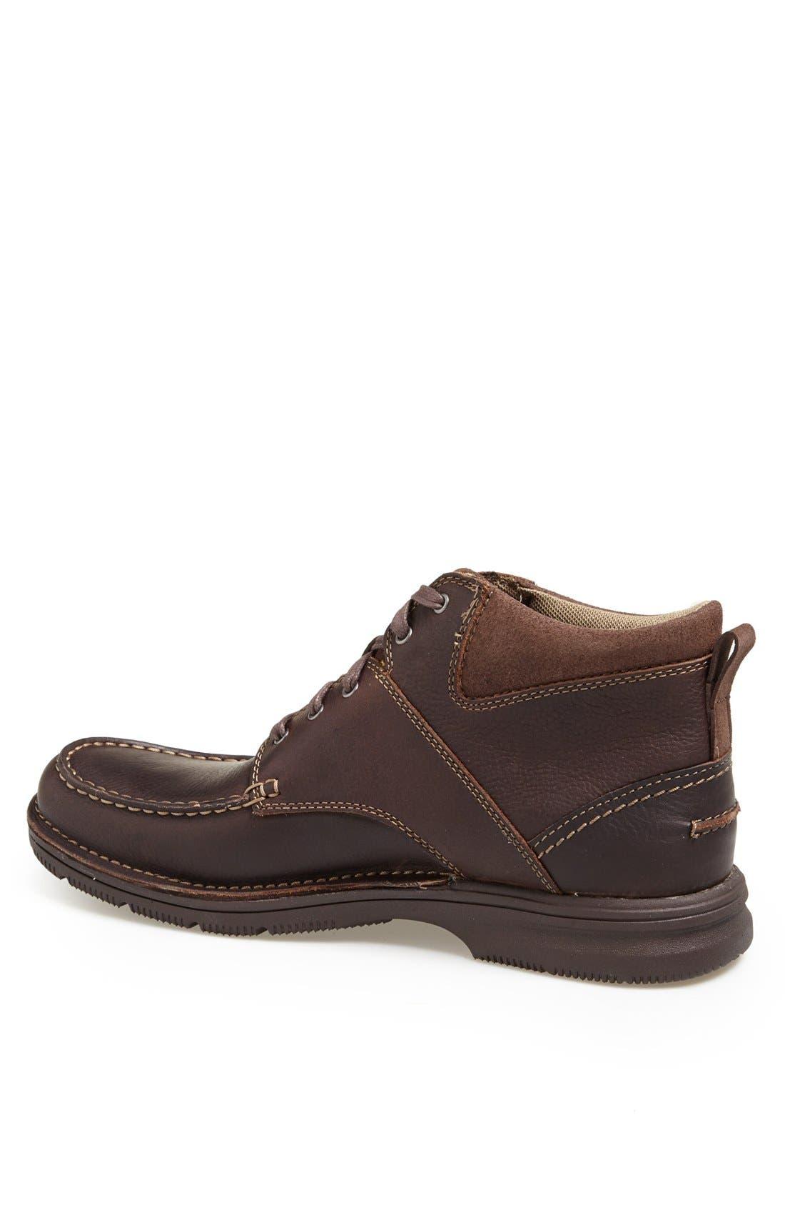 Alternate Image 2  - Clarks® 'Senner Court' Moc Toe Boot