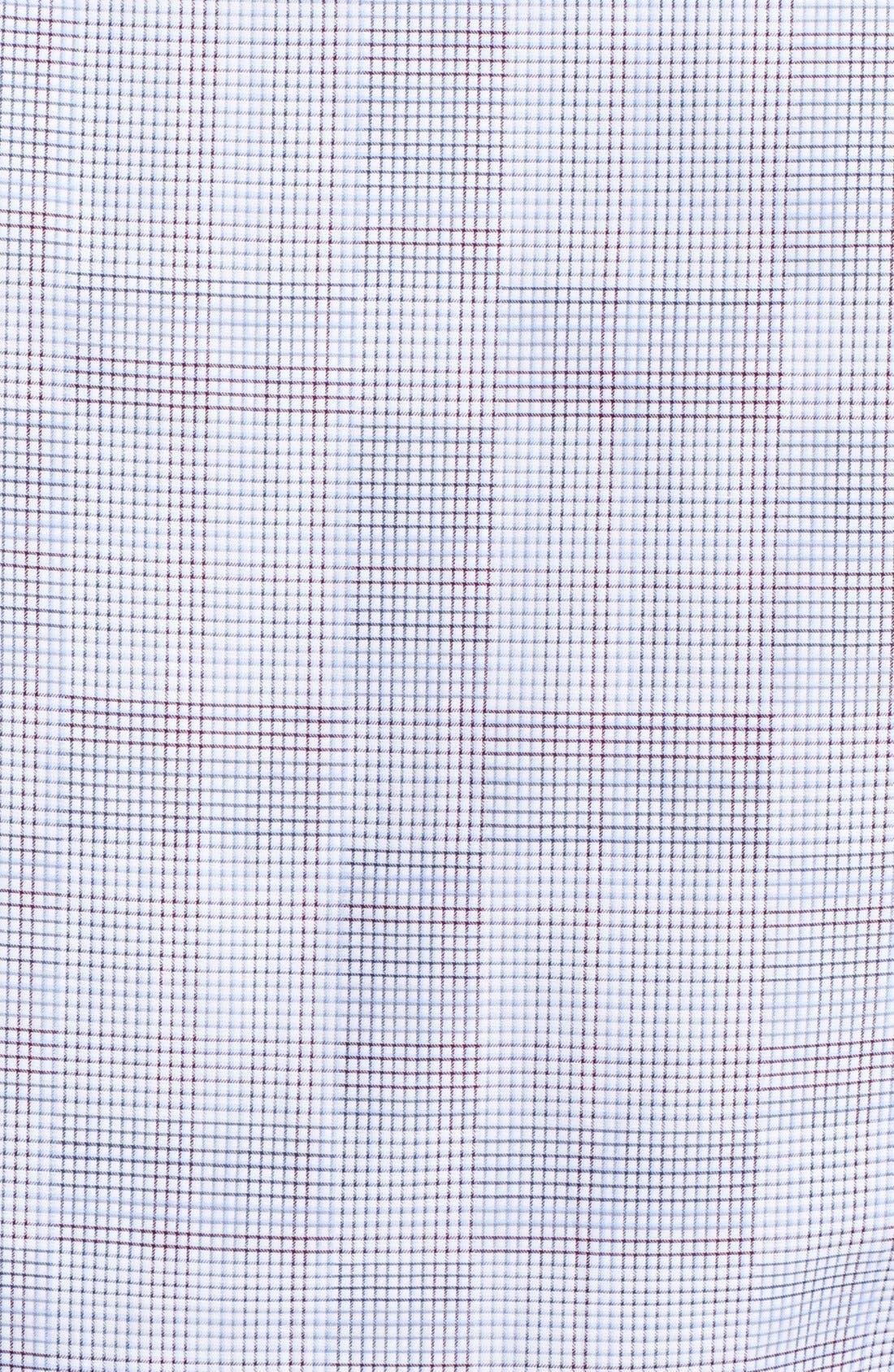 Alternate Image 3  - Z Zegna Tonal Check Sport Shirt