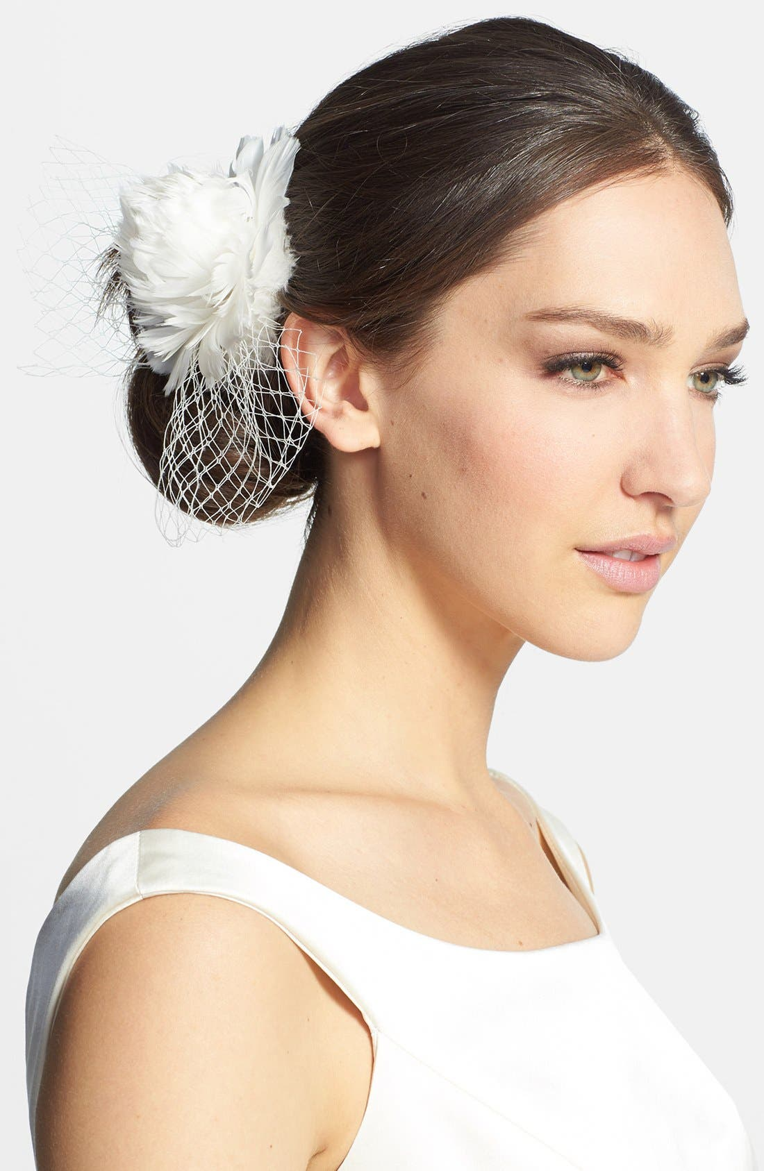 Alternate Image 1 Selected - J-Picone 'Brooklyn' Floral Fascinator