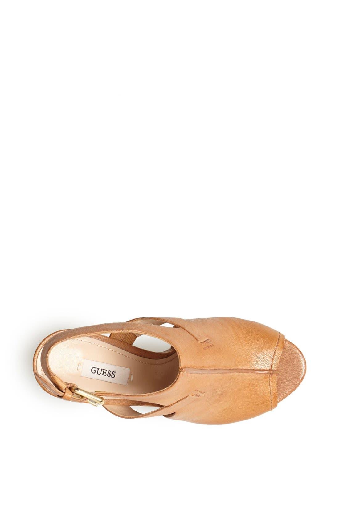 Alternate Image 3  - GUESS 'Gwofira' Platform Sandal