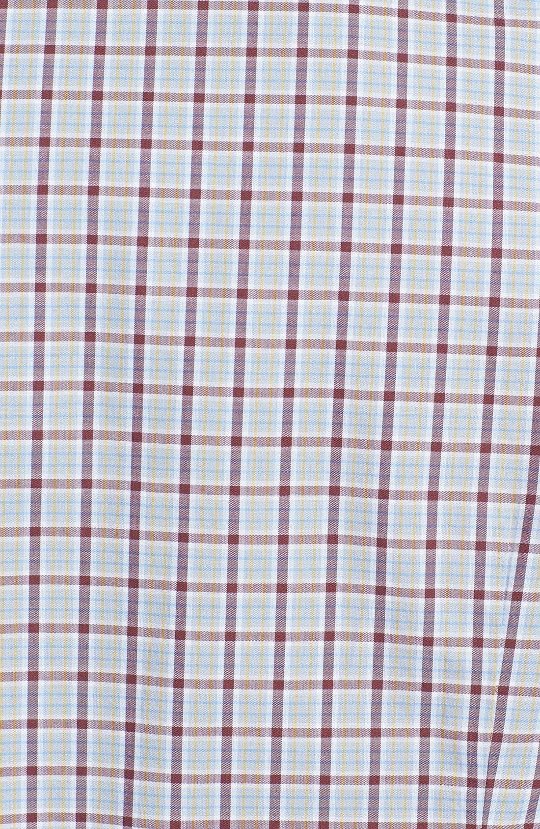 Alternate Image 3  - BOSS HUGO BOSS 'Obert' Regular Fit Plaid Sport Shirt