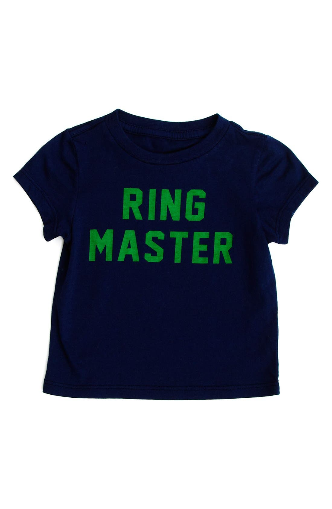 Alternate Image 1 Selected - Peek 'Ring Master' T-Shirt (Baby Girls)