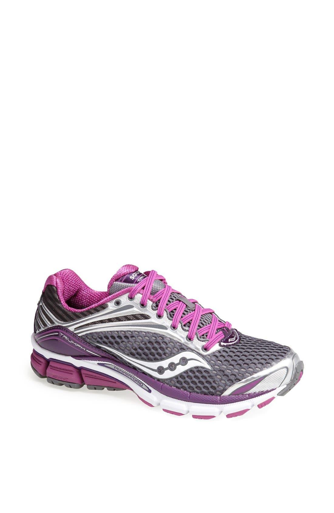 Alternate Image 1 Selected - Saucony 'Triumph 11' Running Shoe (Women)