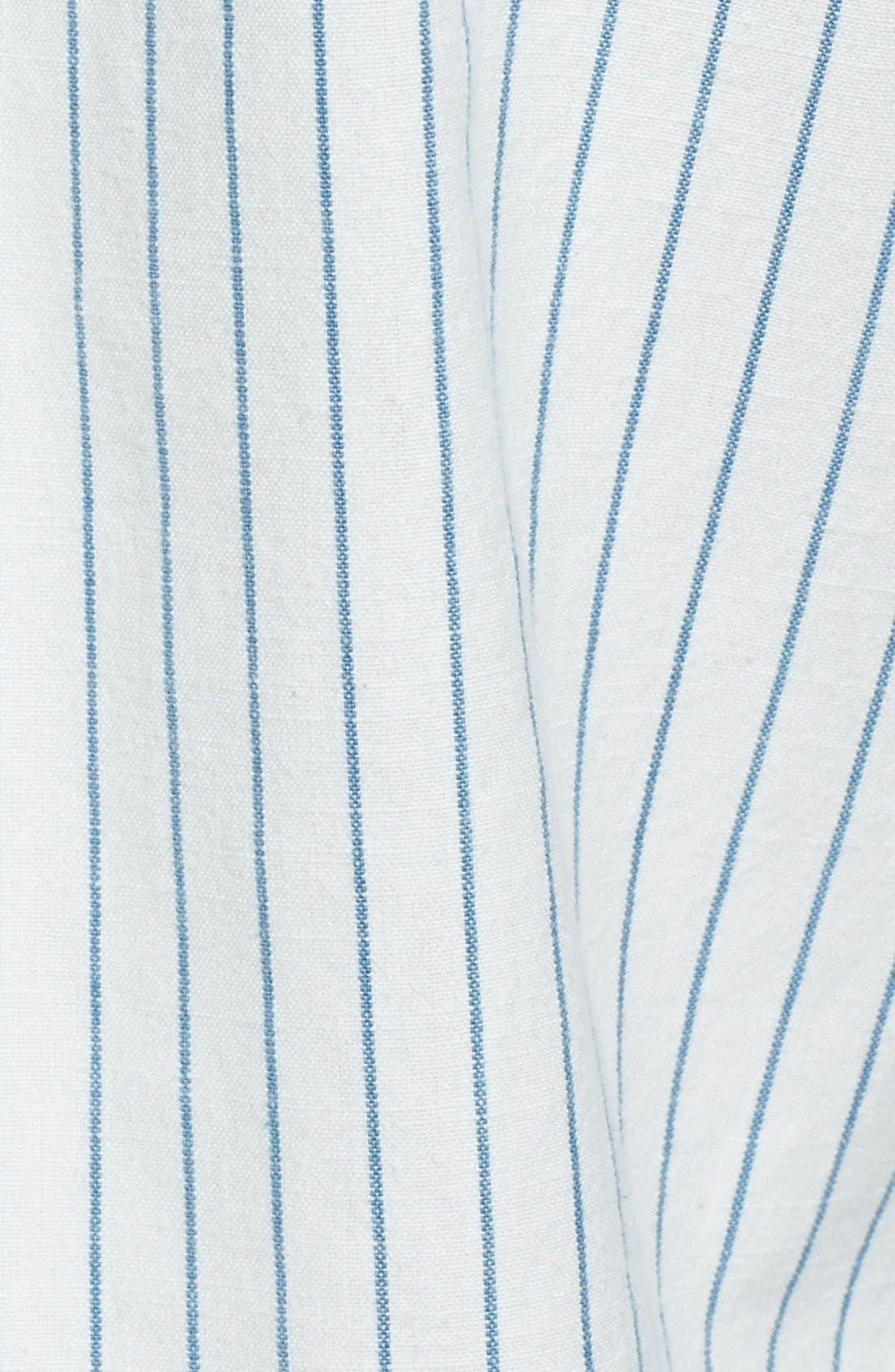 Alternate Image 3  - Gant 'O.P. Indigo Stripe' Sport Shirt
