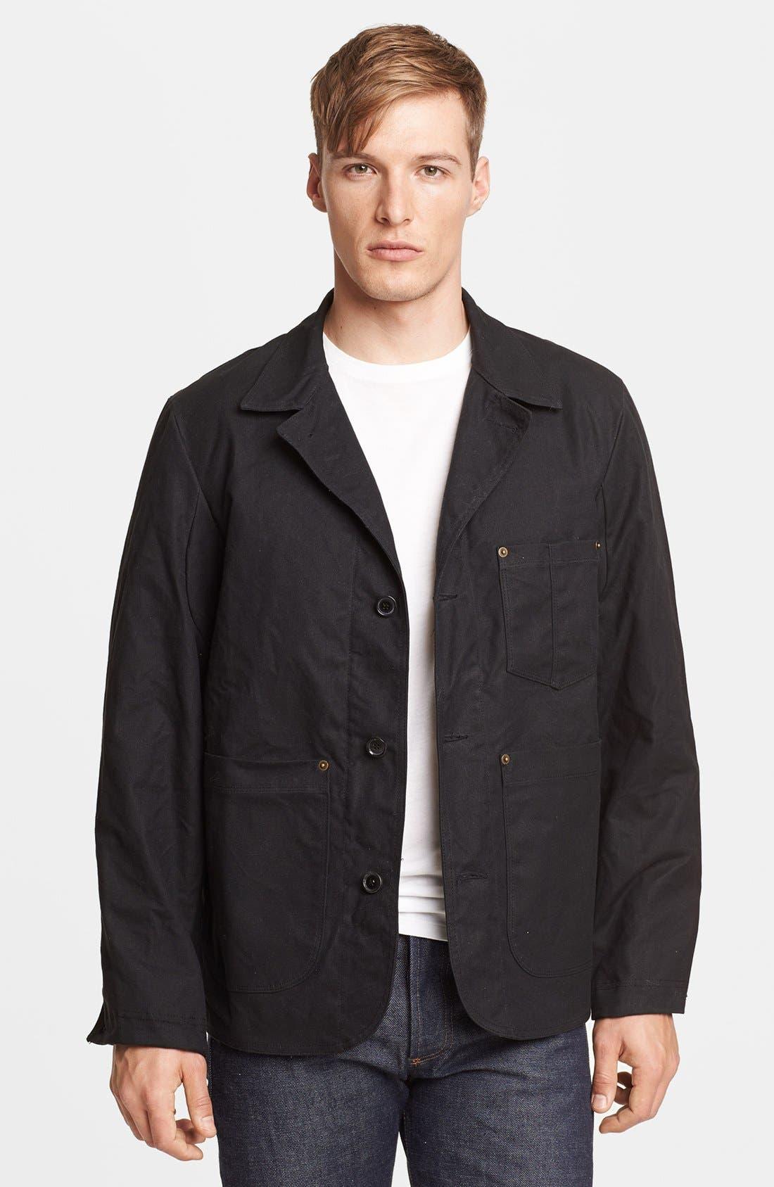 Main Image - Billy Reid Waxed Cotton Quail Jacket