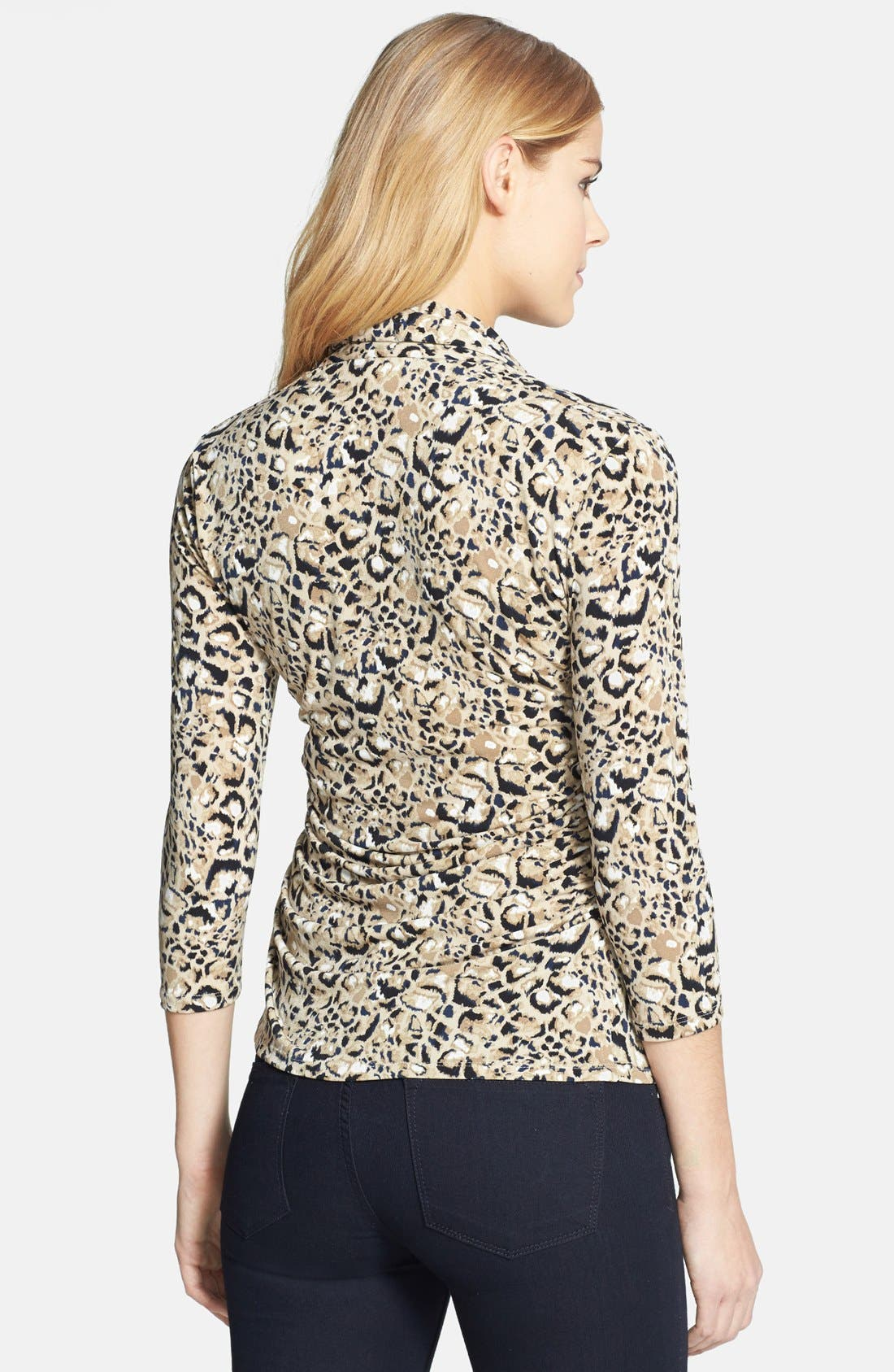 Alternate Image 2  - Vince Camuto 'Animal Rocks' V-Neck Top