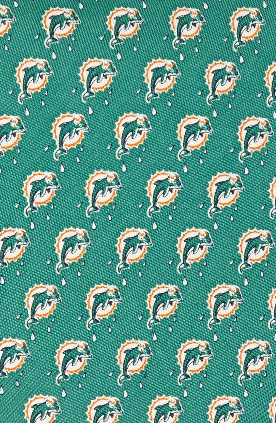 Alternate Image 2  - Vineyard Vines Miami Dolphins Print Tie