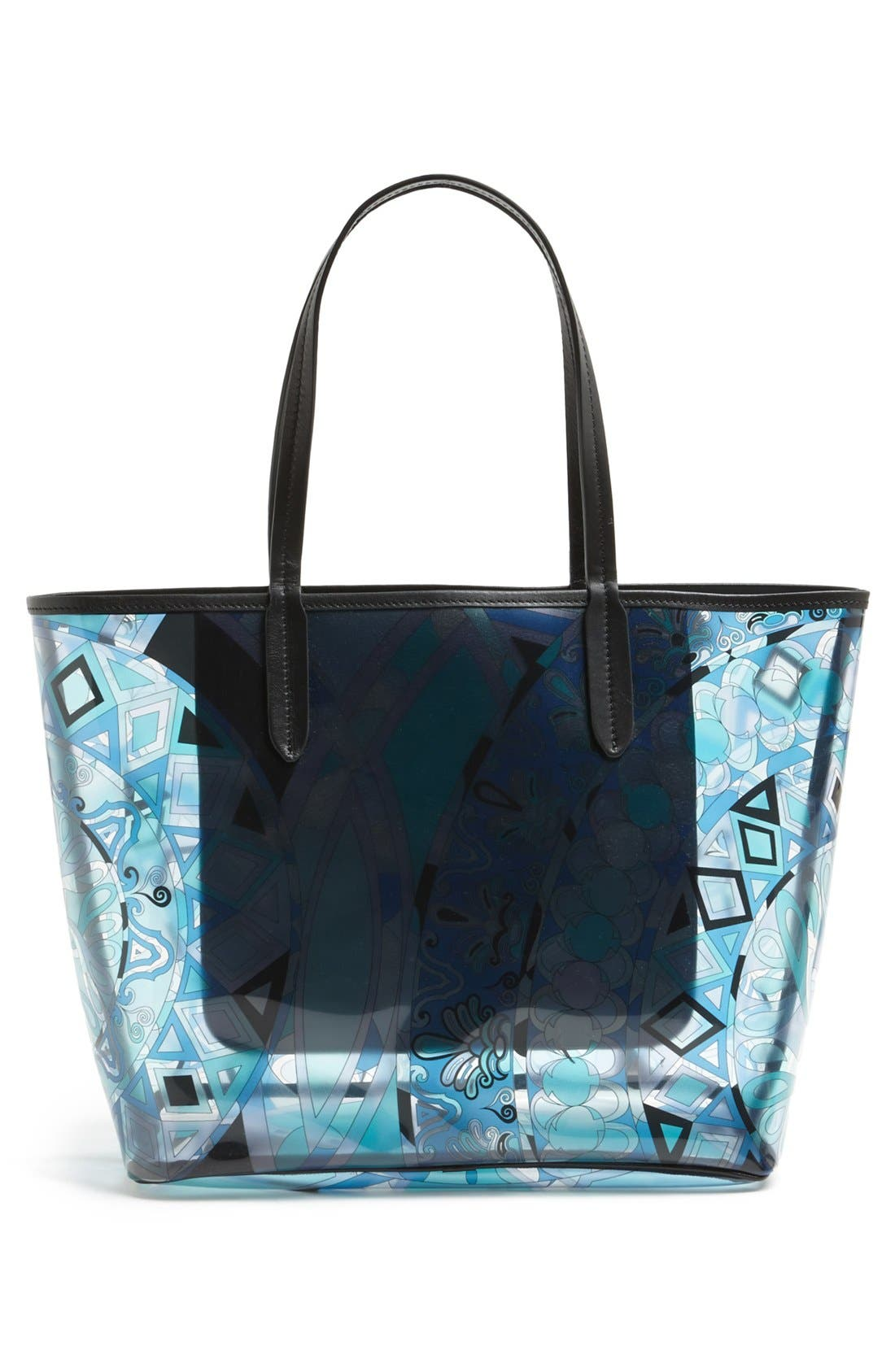 Alternate Image 4  - Emilio Pucci 'Small' Print Tote