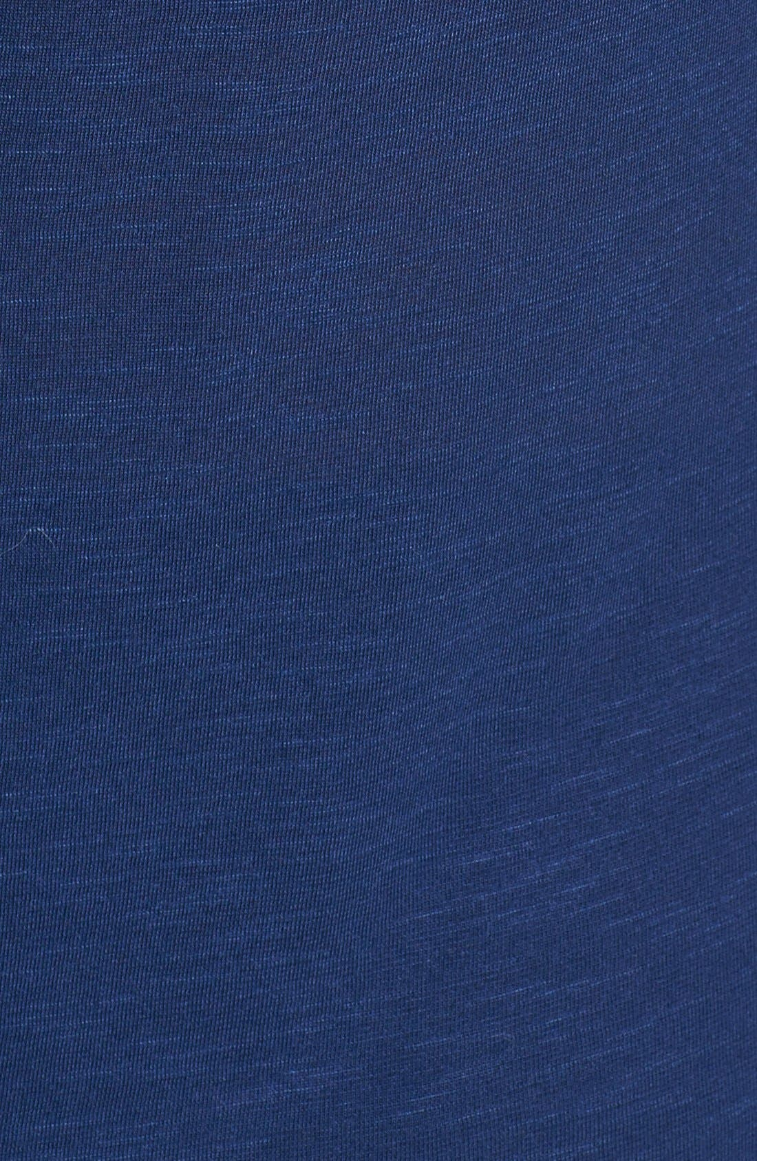 Alternate Image 3  - Topshop Drape Jersey Top