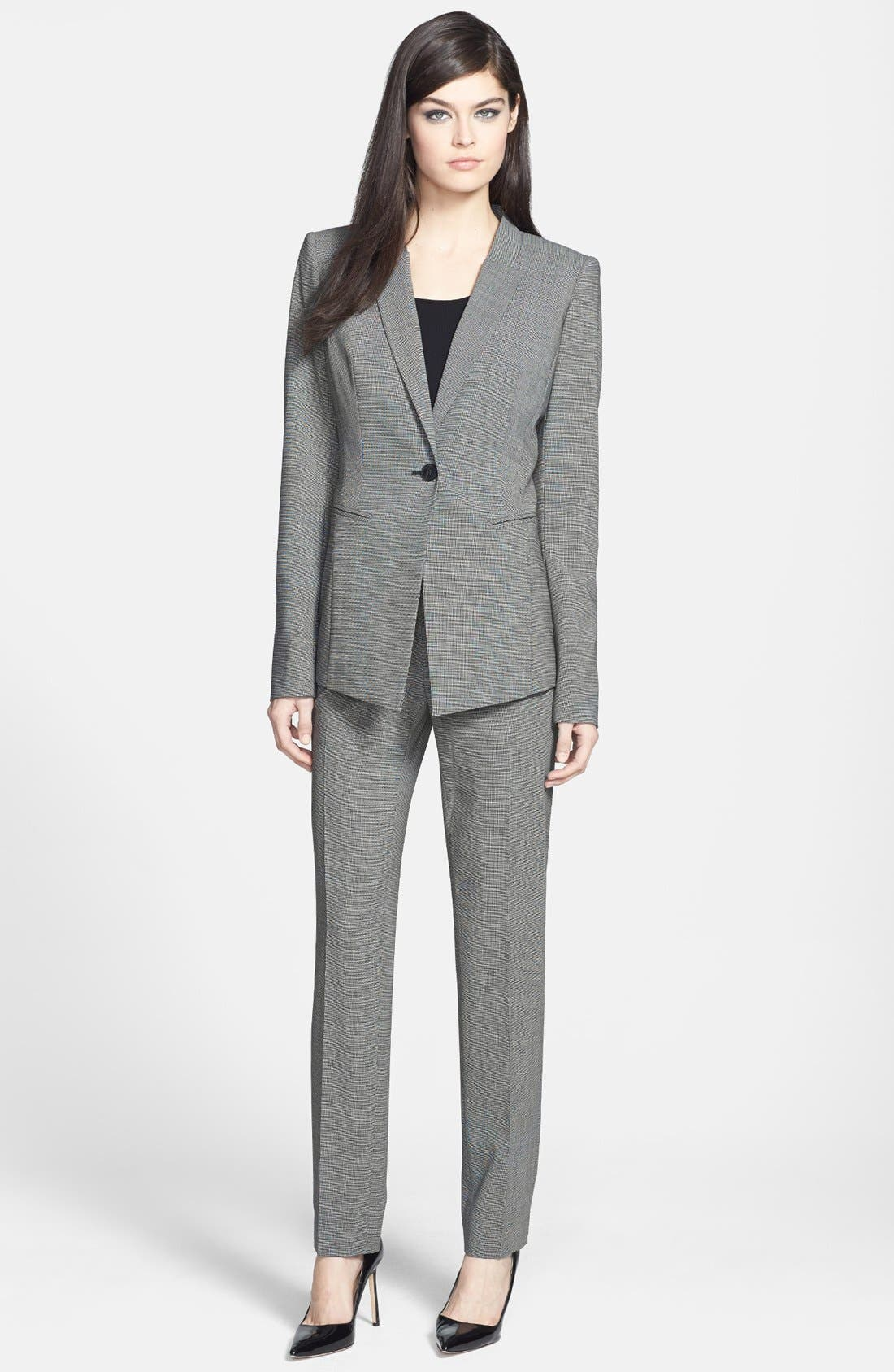 Alternate Image 4  - Lafayette 148 New York 'Kiotta' Stretch Wool Jacket