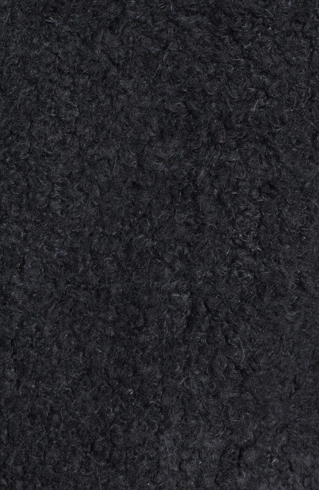 Alternate Image 3  - Topshop 'Teddy' Faux Fur Peacoat