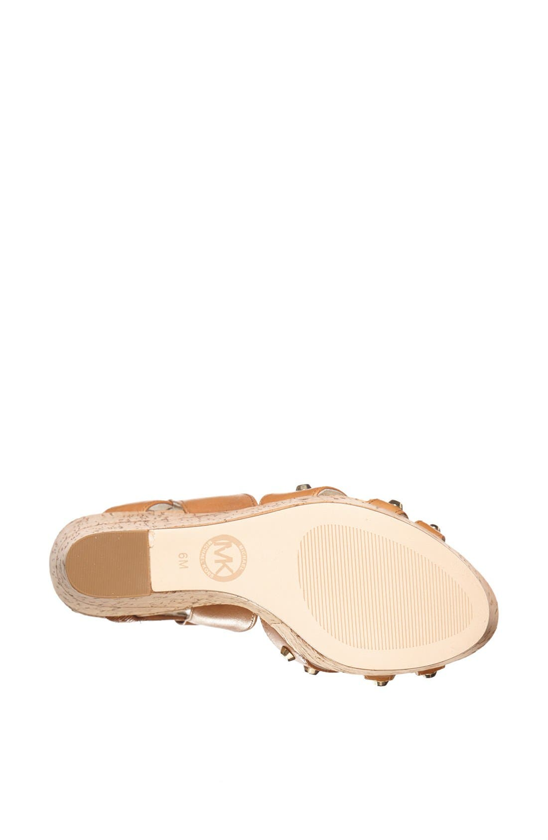 Alternate Image 4  - MICHAEL Michael Kors Wedge sandal