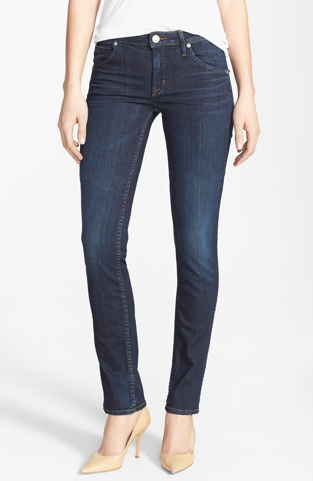 Alternate Image 1 Selected - Hudson Jeans 'Carly' Straight Leg Jeans (Shirley)