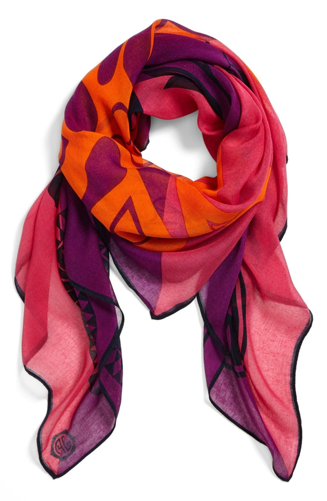 Alternate Image 1 Selected - Jonathan Adler 'Dove' Colorblock Scarf