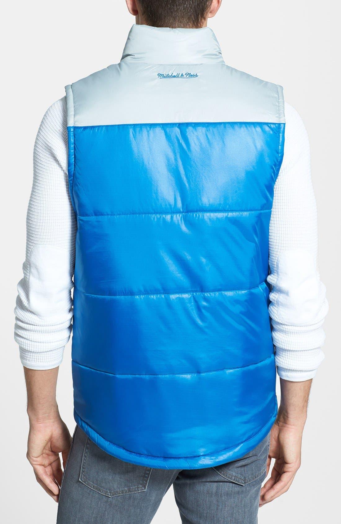 Alternate Image 2  - Mitchell & Ness 'Winning Team - Detroit Lions' Quilted Vest
