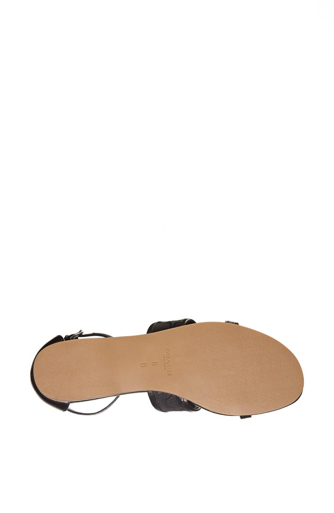 Alternate Image 4  - COACH 'Harriet' Sandal
