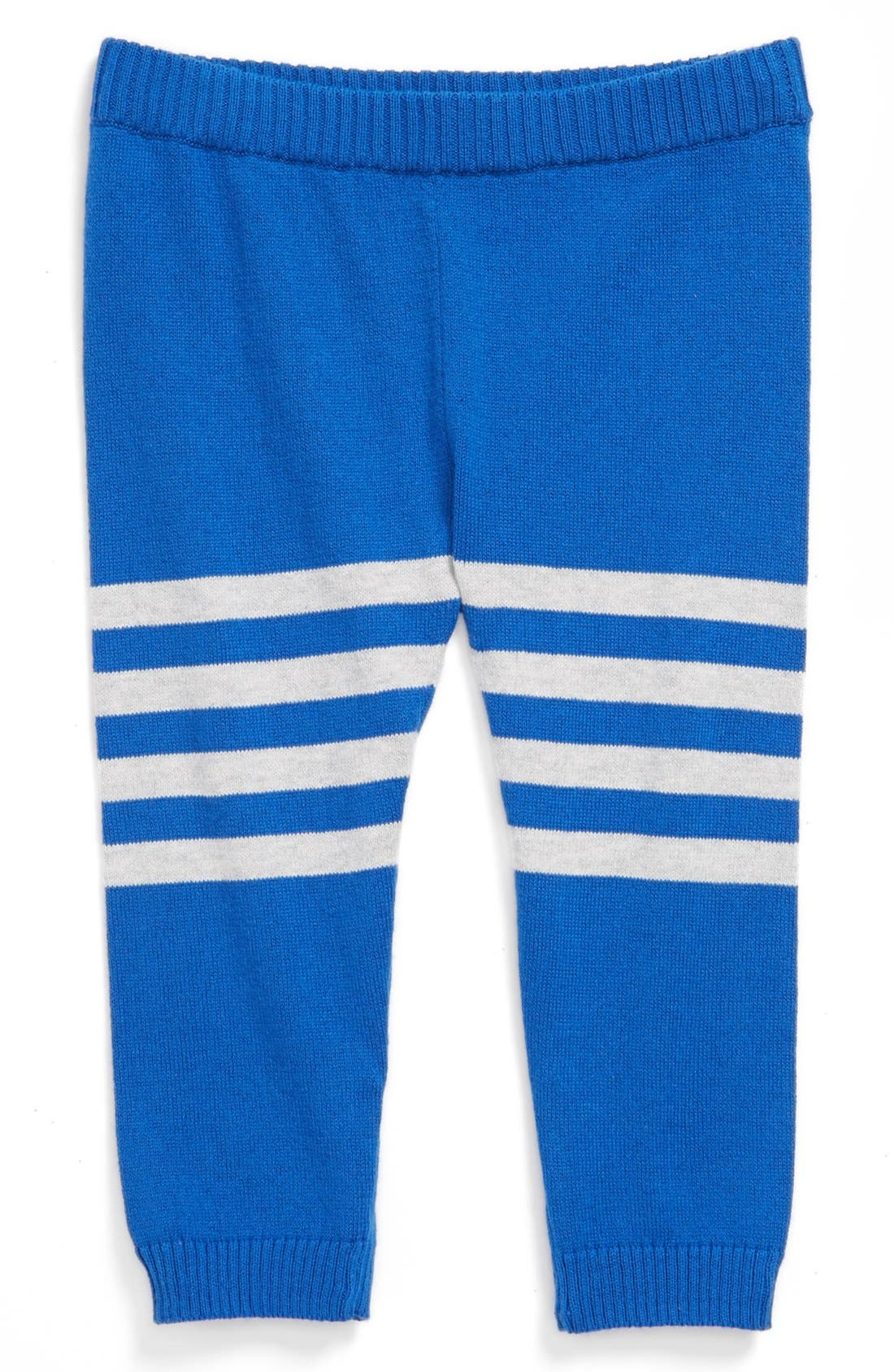 Alternate Image 1 Selected - Stem Baby Organic Cotton Sweater Pants (Baby Boys)