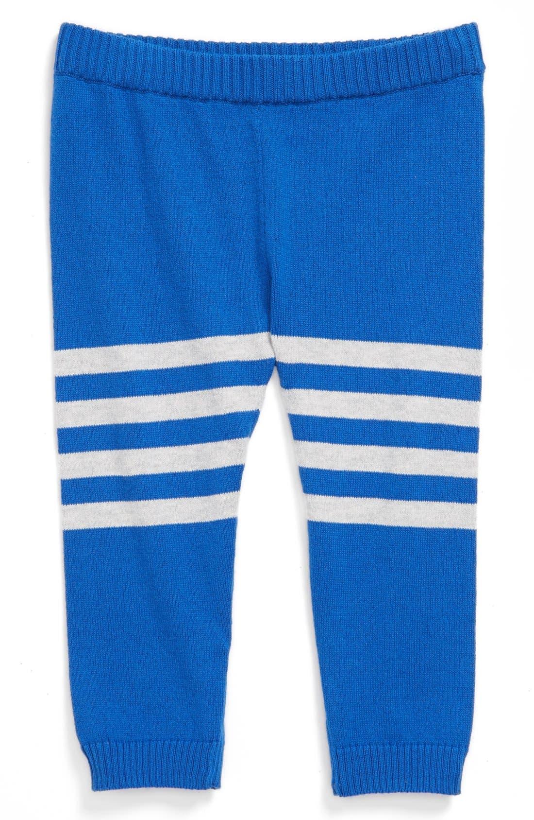 Main Image - Stem Baby Organic Cotton Sweater Pants (Baby Boys)