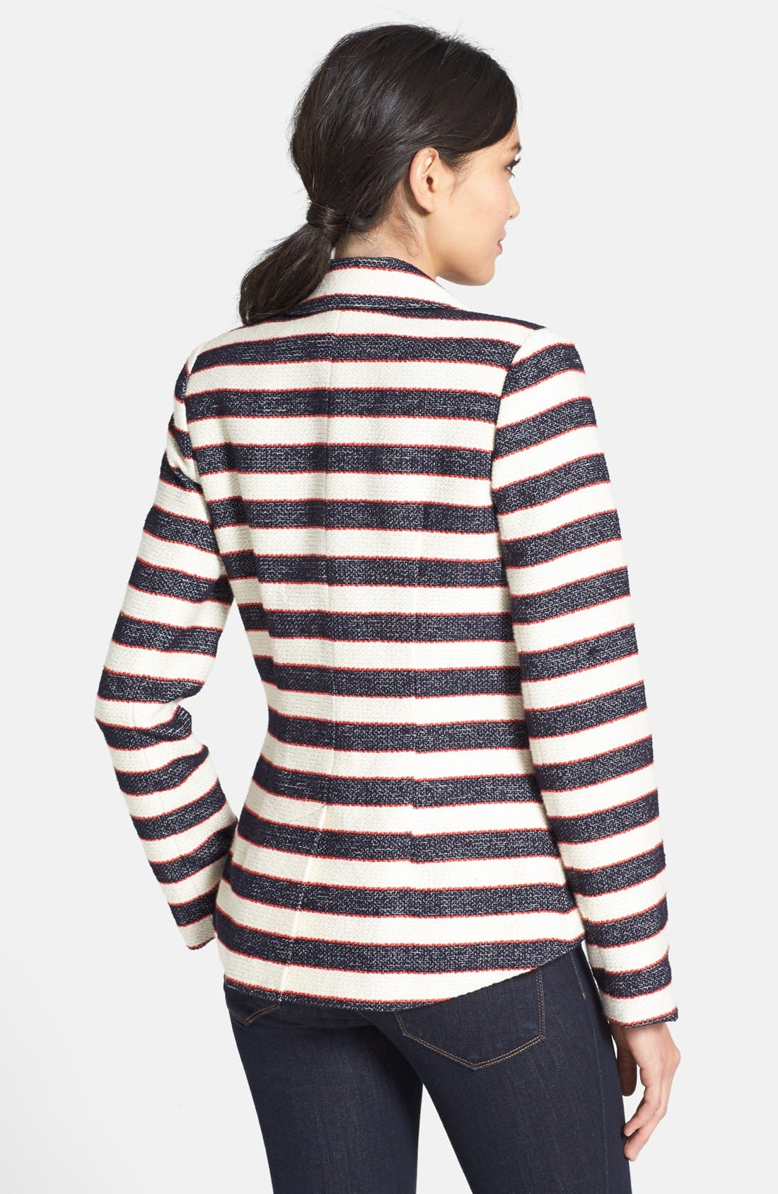 Alternate Image 2  - Search for Sanity Double Breasted Stripe Blazer