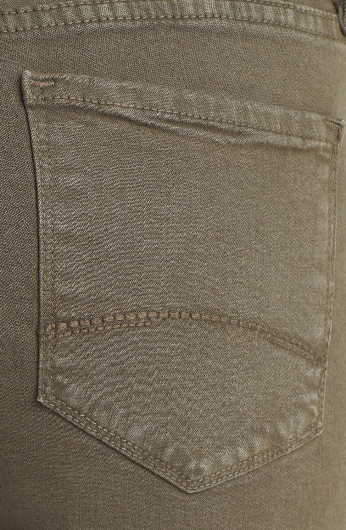 Alternate Image 3  - NYDJ 'Barbara' Colored Stretch Bootcut Jeans