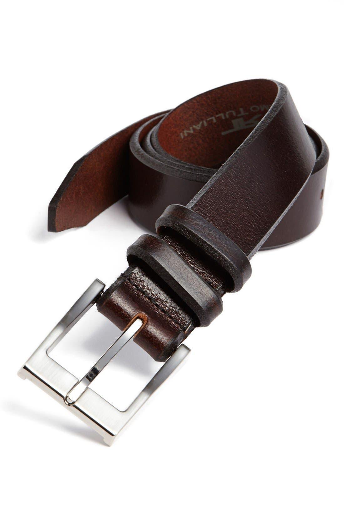 Alternate Image 1 Selected - Remo Tulliani 'Lido' Glazed Leather Belt
