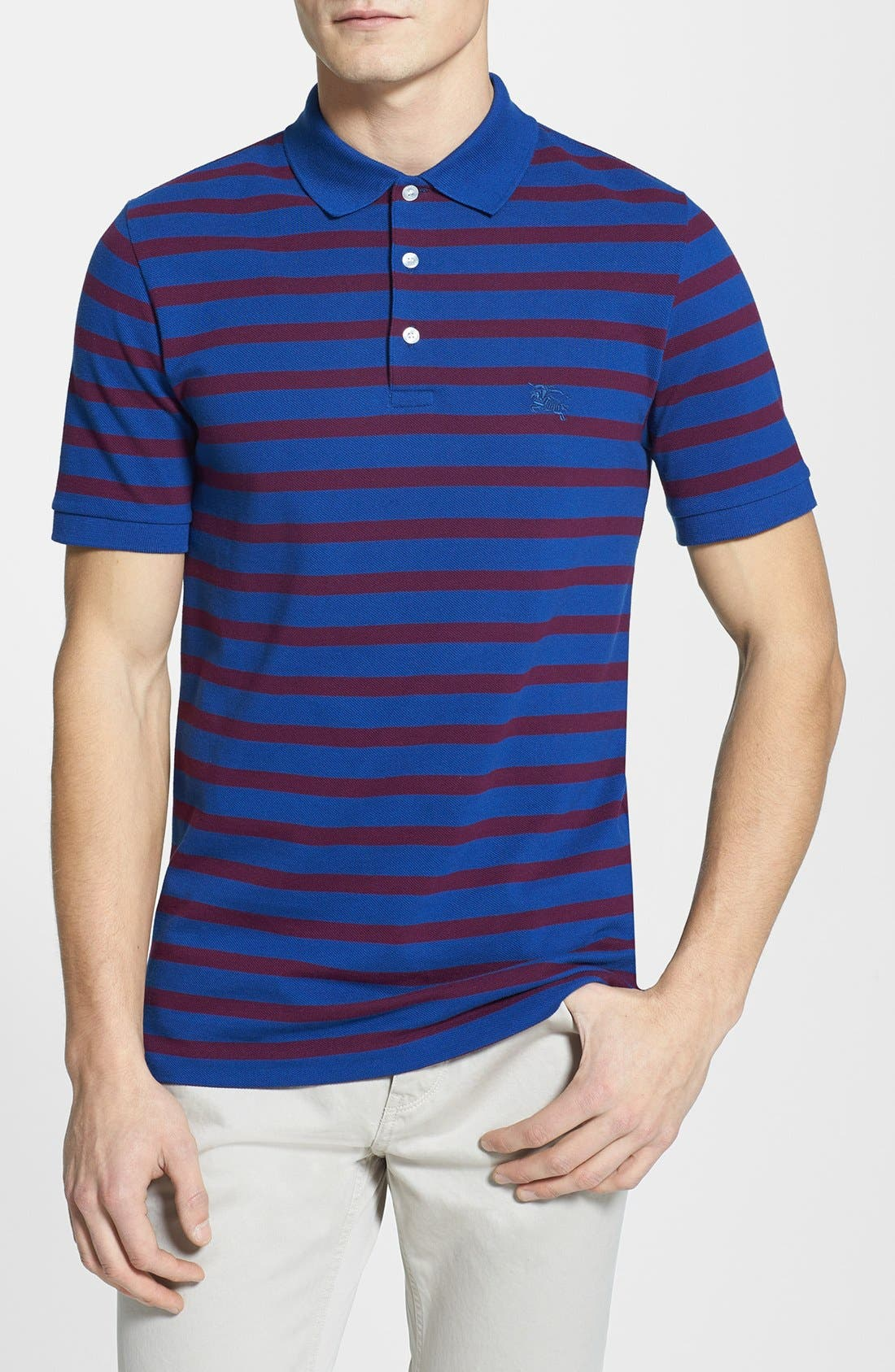 Alternate Image 1 Selected - Burberry Brit Striped Polo