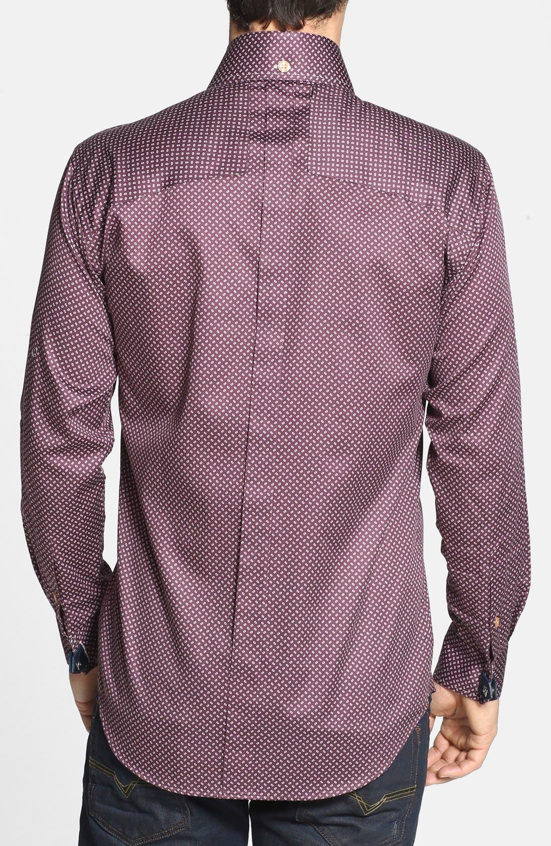 Alternate Image 2  - Bogosse 'D-Rey' Trim Fit Sport Shirt