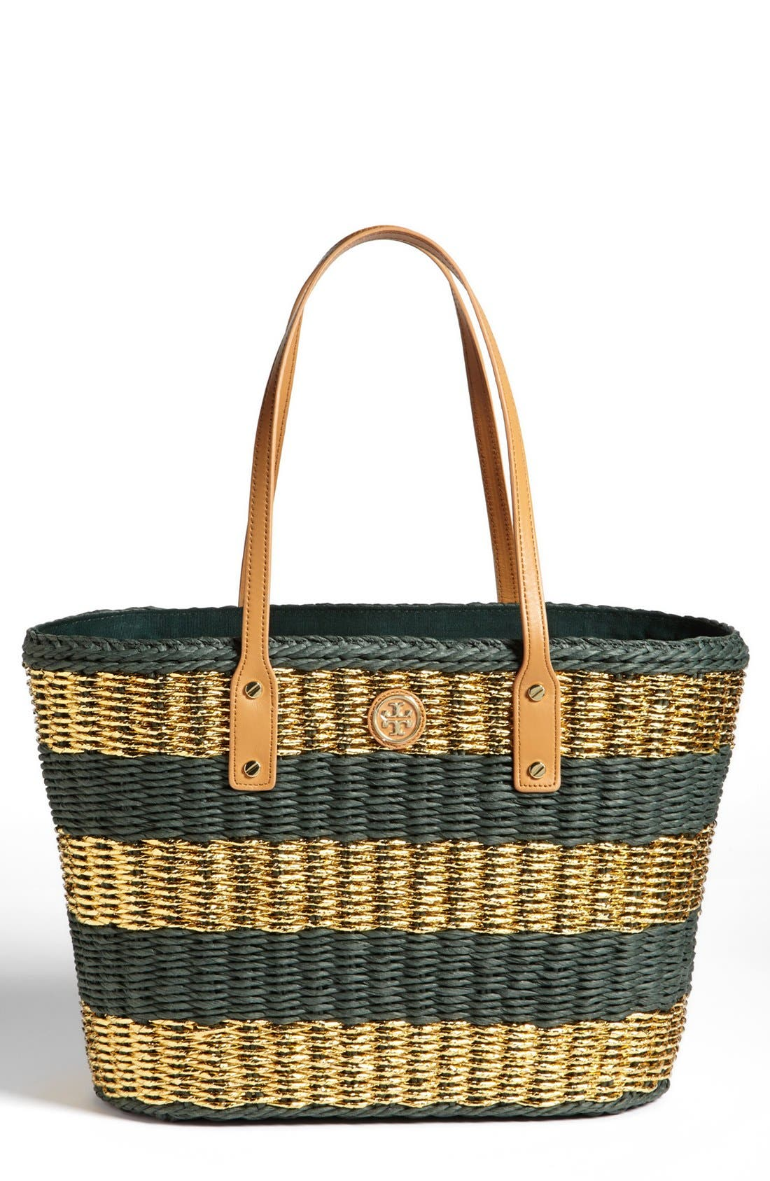 Main Image - Tory Burch Stripe Tote