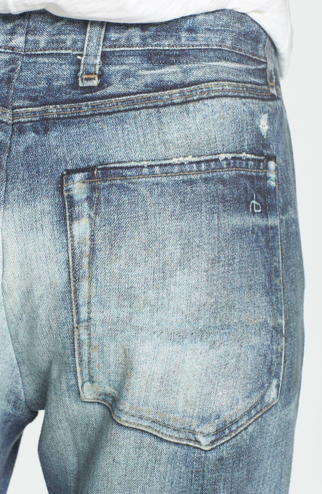 Alternate Image 3  - rag & bone/JEAN 'Pajama Jean' Print Sweatpants (Miramar)