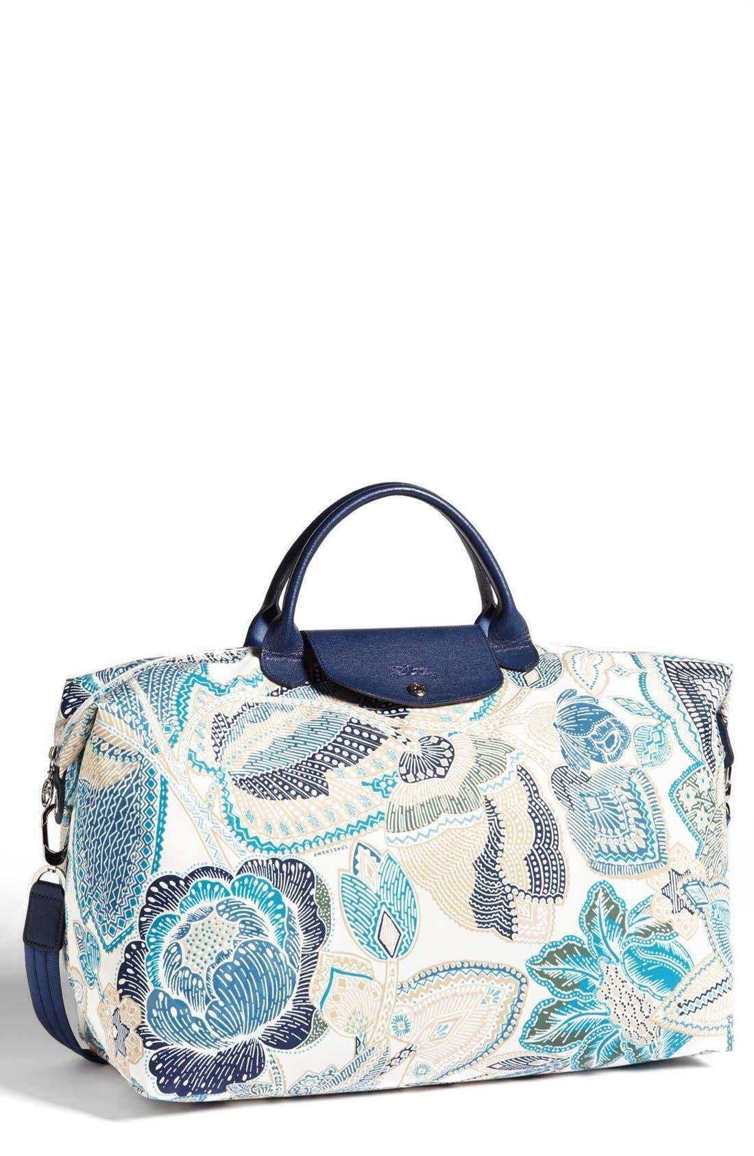 Alternate Image 1 Selected - Longchamp 'Fleurs de Ravello' Travel Bag
