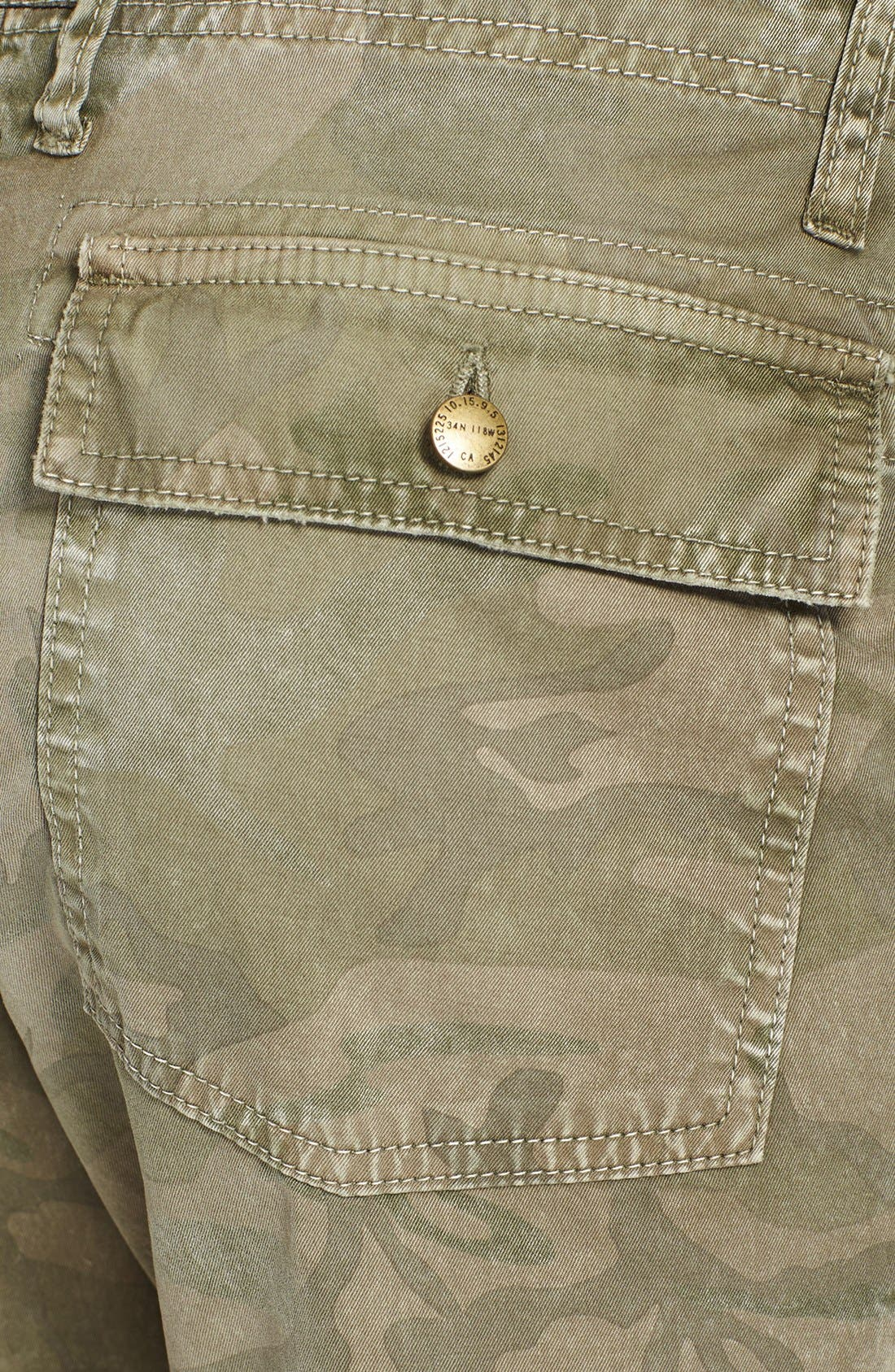 Alternate Image 3  - Current/Elliott 'The Army Buddy' Jeans (Army Camo)