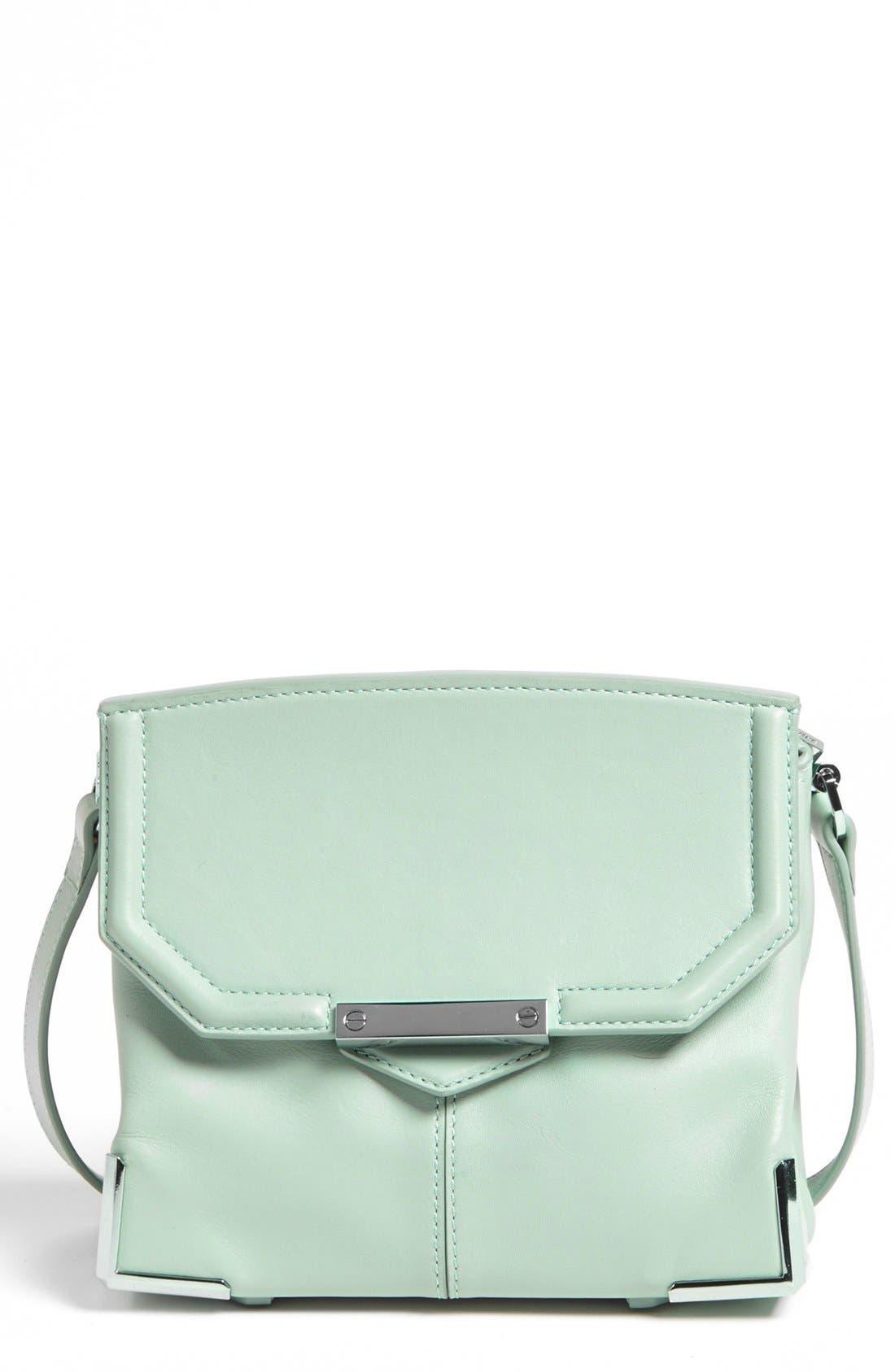Alternate Image 1 Selected - Alexander Wang 'Marion Mini - Prisma' Leather Crossbody Bag