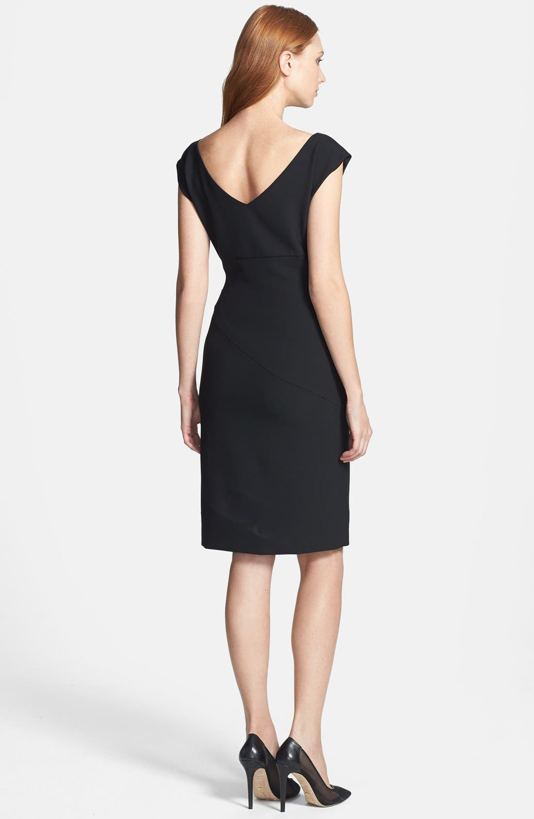 Alternate Image 2  - Diane von Furstenberg 'Jori' Ruched Sheath Dress