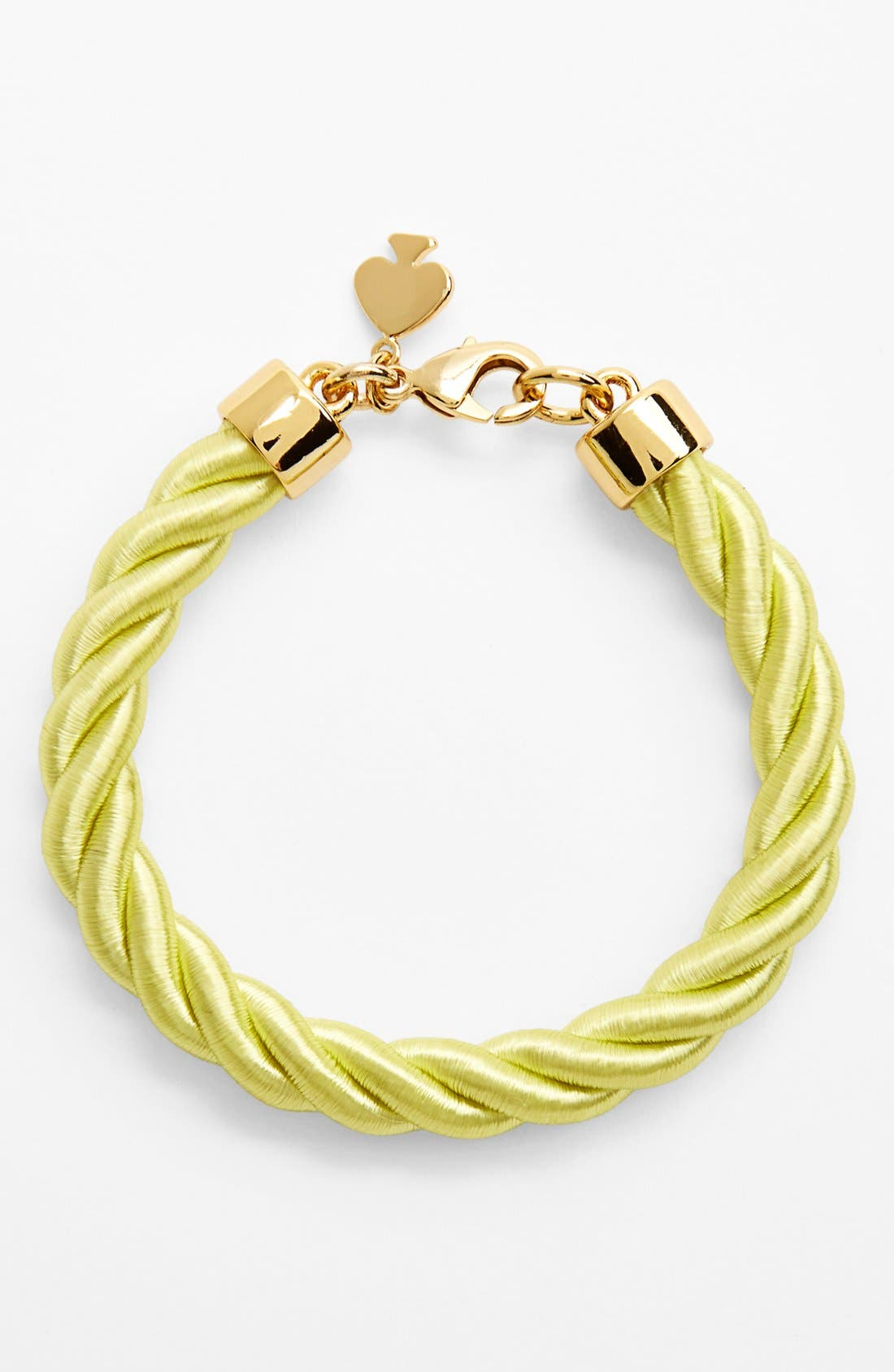 Alternate Image 1 Selected - kate spade new york 'learn the ropes' cord bracelet