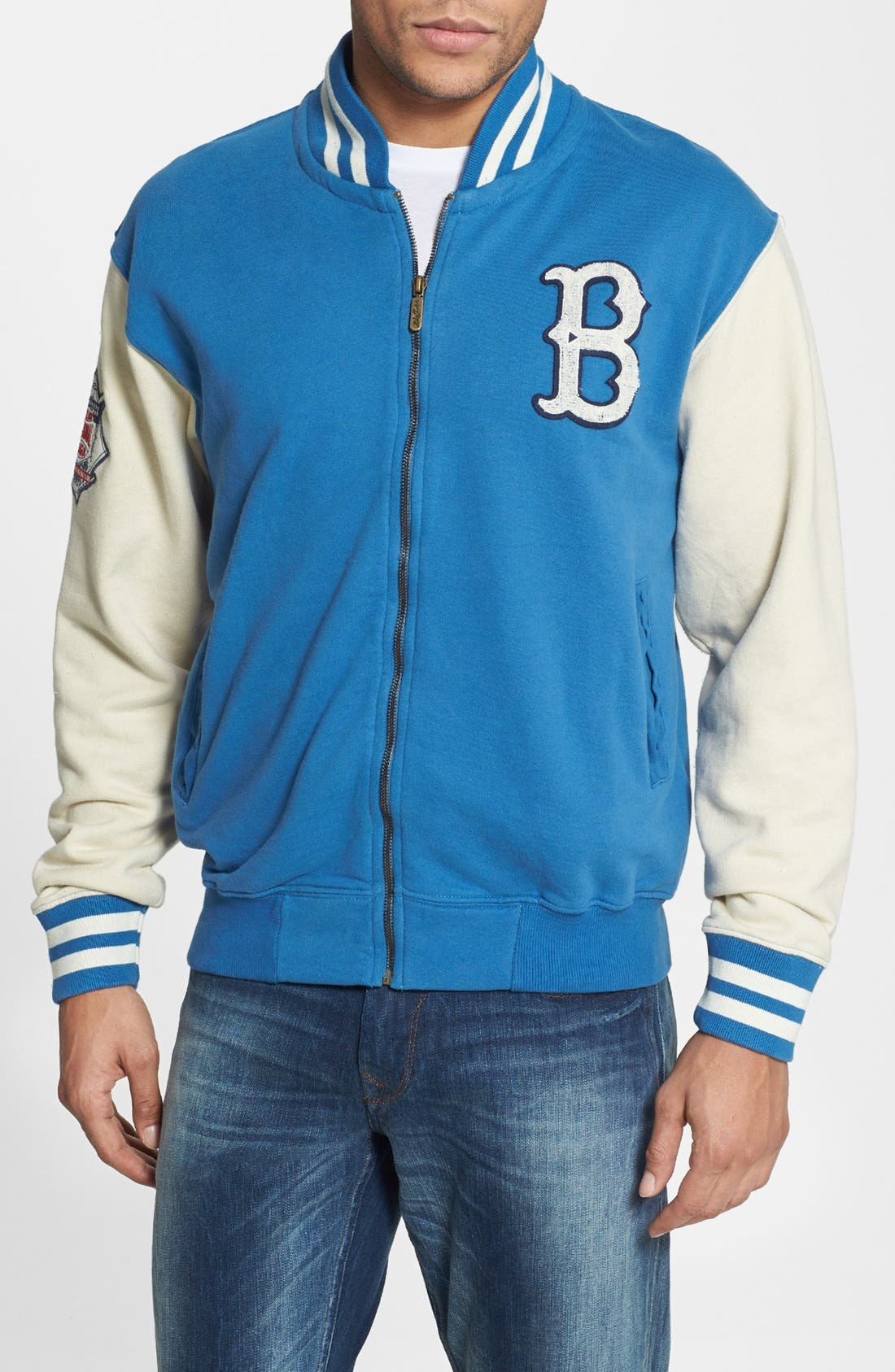 Alternate Image 1 Selected - American Needle 'Brooklyn Dodgers' Varsity Jacket