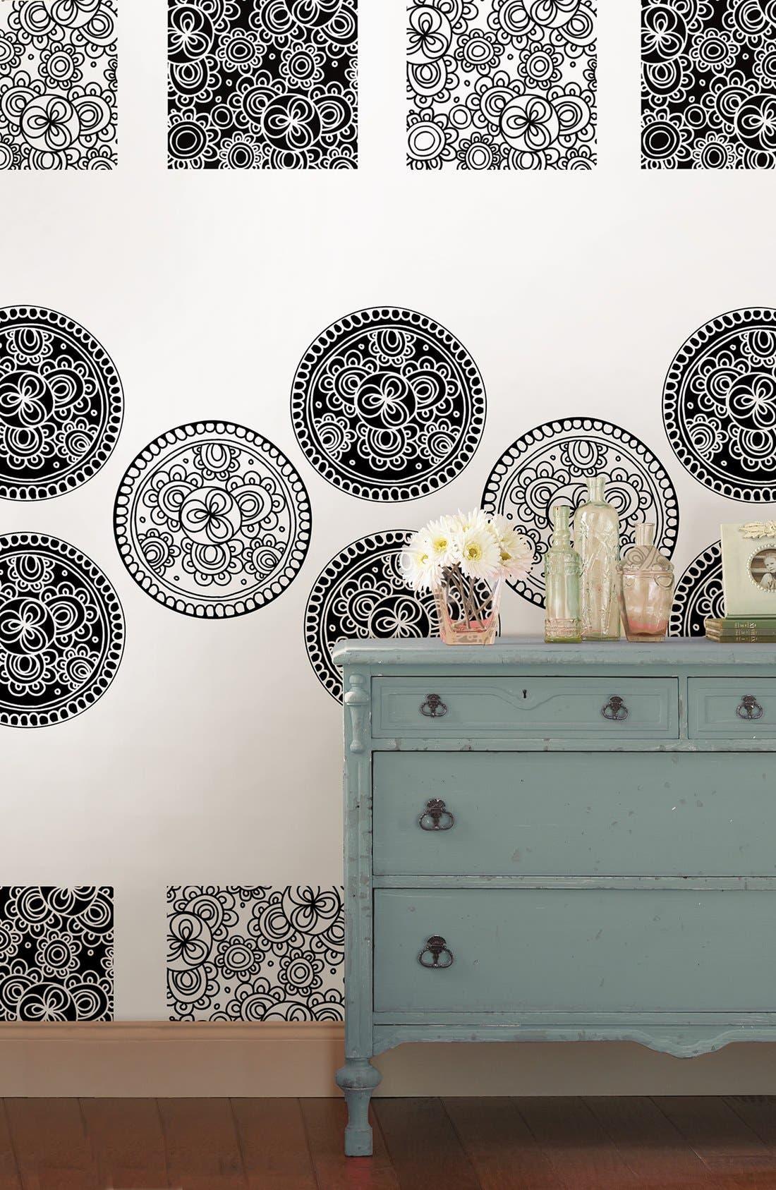 Alternate Image 2  - Wallpops 'Bali Dots & Blox' Wall Art