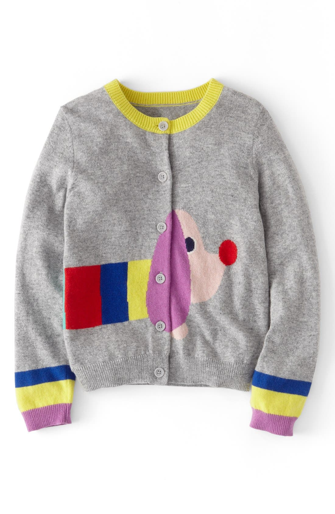 Alternate Image 1 Selected - Mini Boden 'Pet' Cardigan (Toddler Girls, Little Girls & Big Girls)